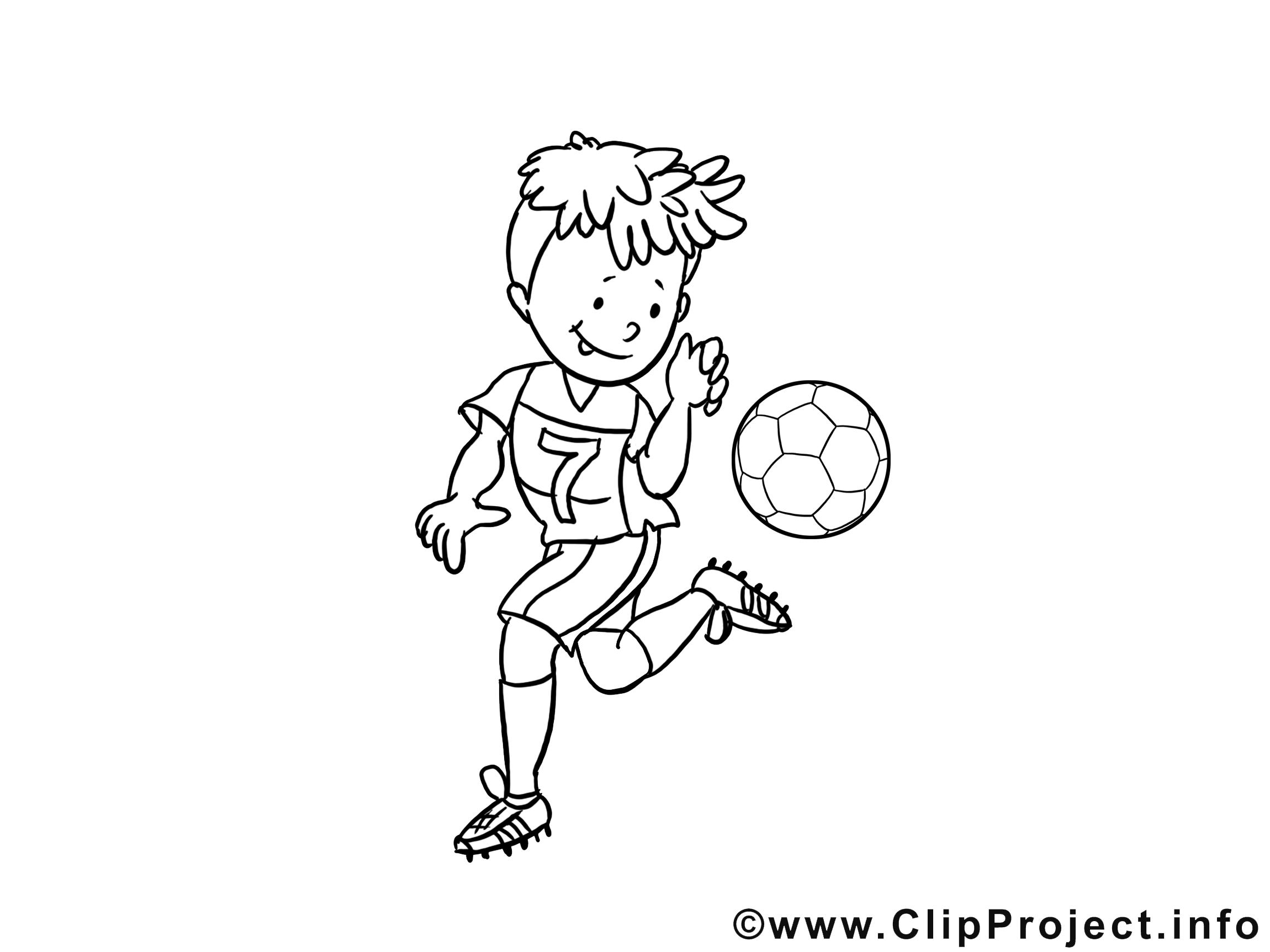 Dessin à imprimer - Football images