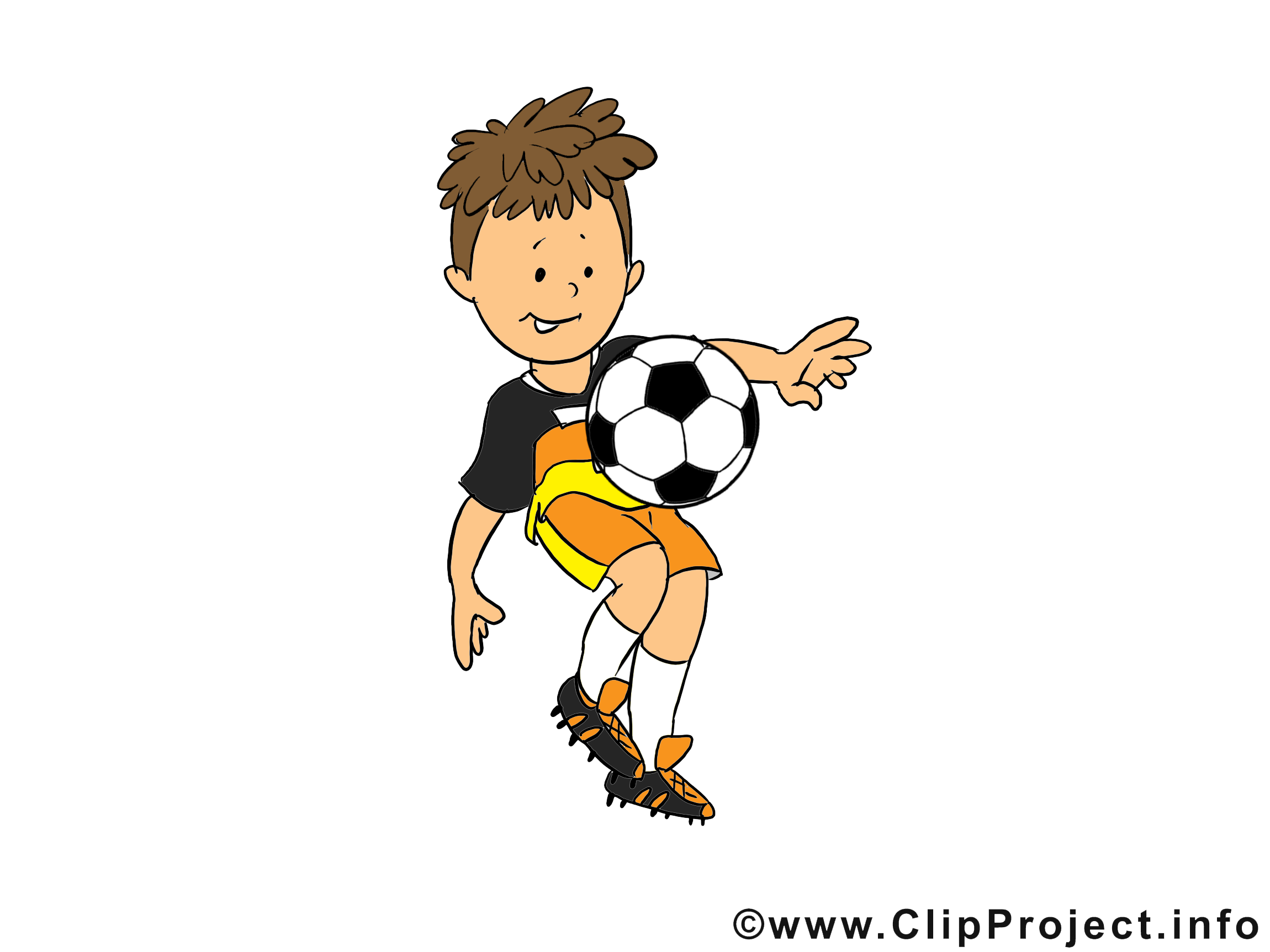Dessins gratuits football clipart