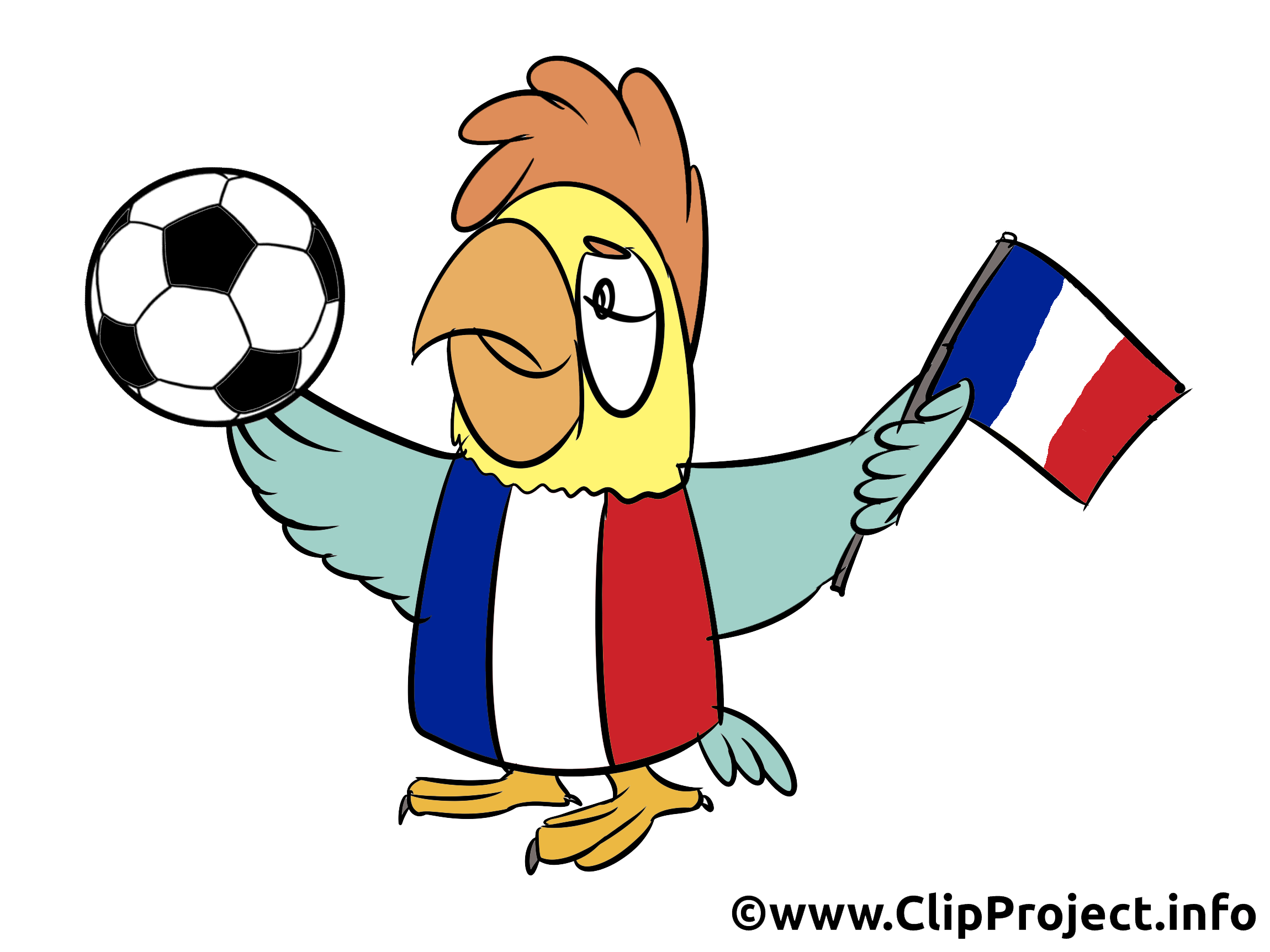 Football championnat France clipart image