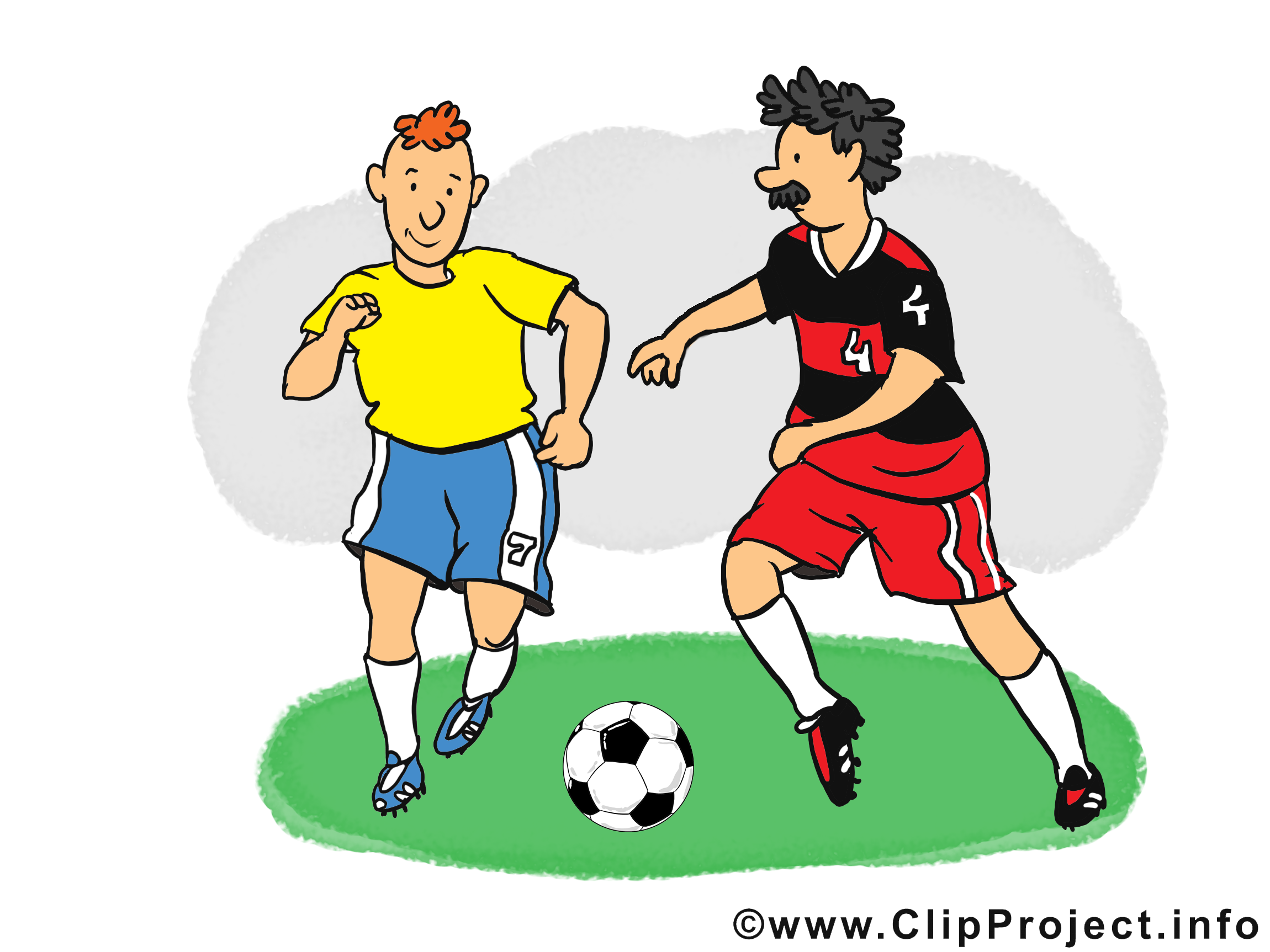 Footballeurs image - Football images cliparts