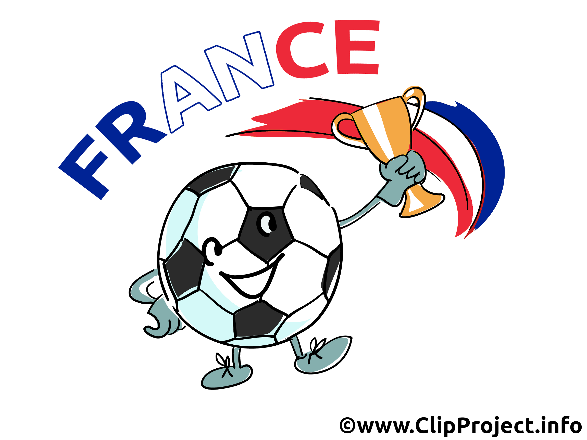 France football clip art gratuit football dessin picture image graphic clip art - France football gratuit ...