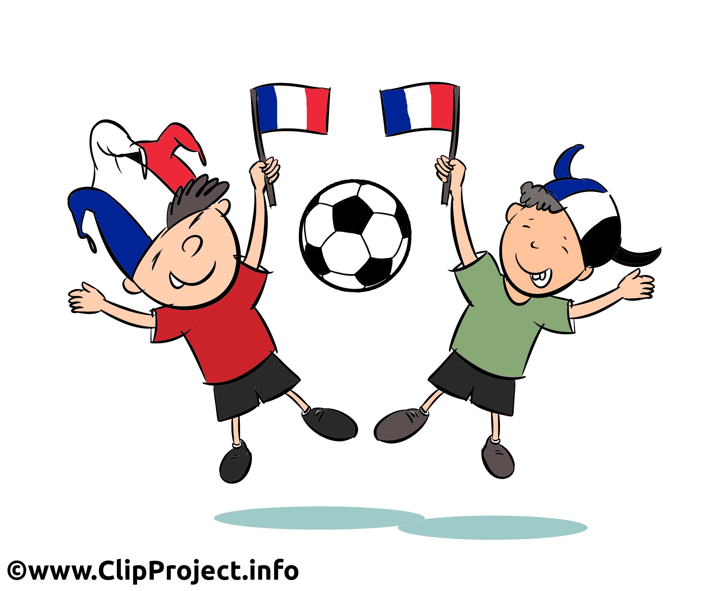 France footeuse clipart image gratuit