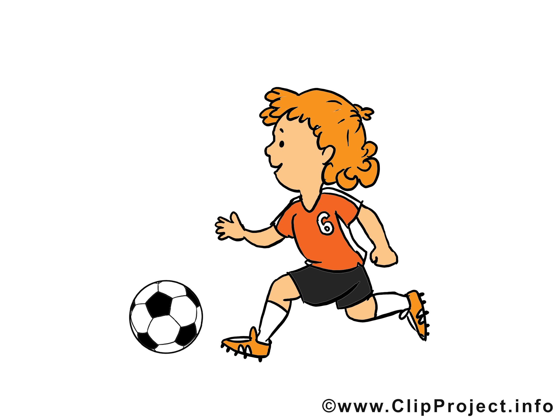 Illustration gratuite football clipart