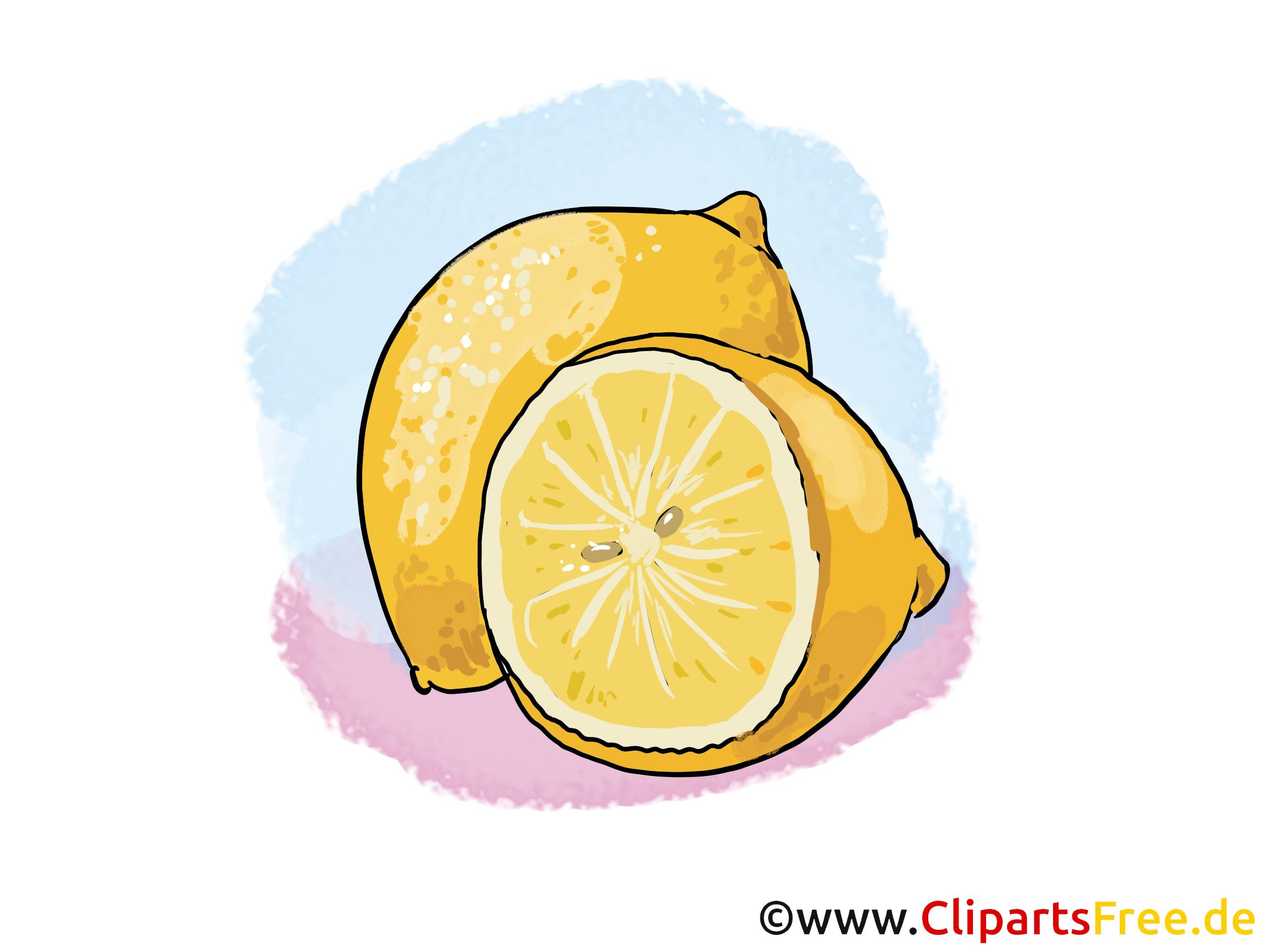 Citron image gratuite – Fruits clipart