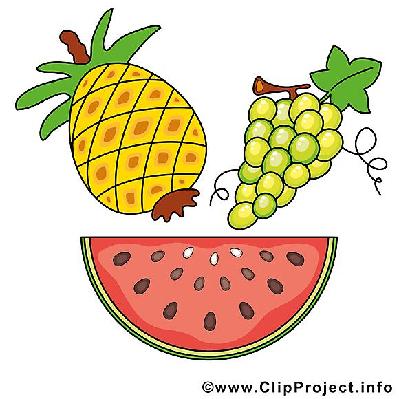 Fruits clip art gratuite à télécharger
