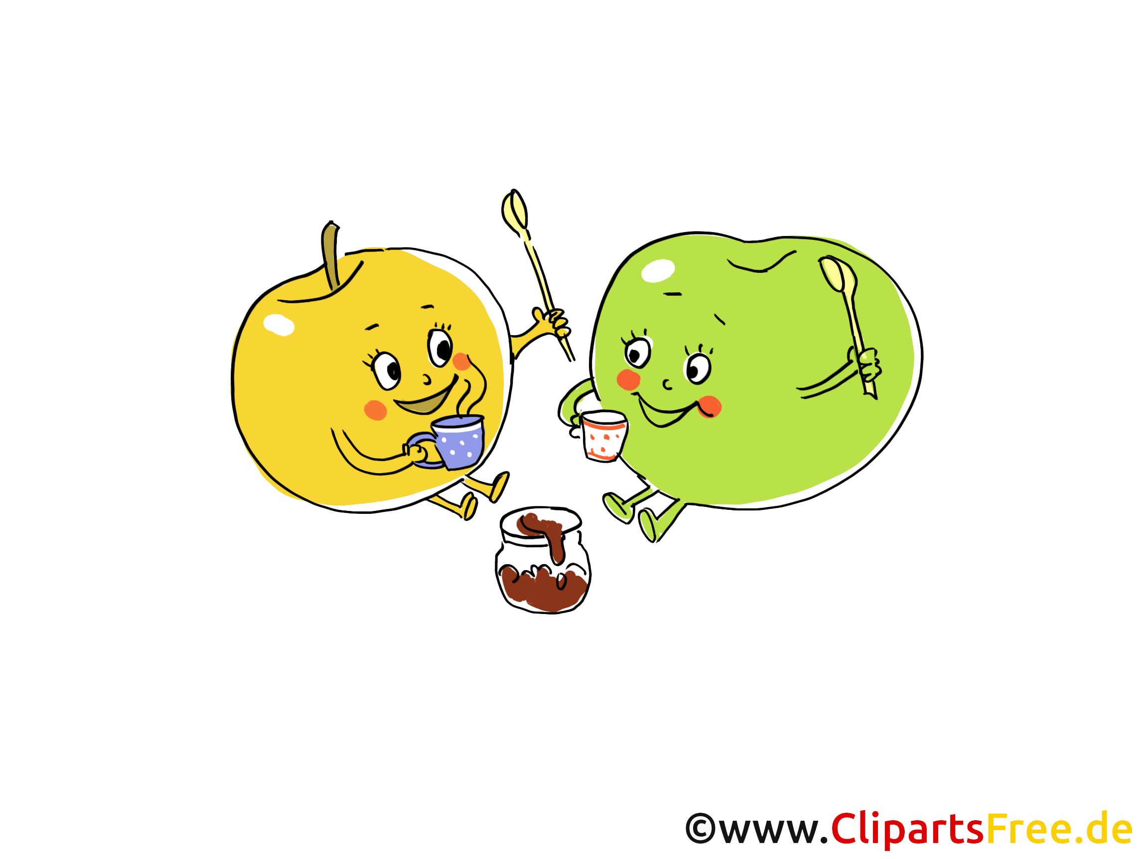 Image gratuite fruits illustration