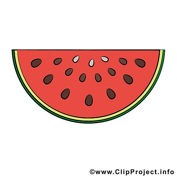 Pastèque illustration - Fruits images