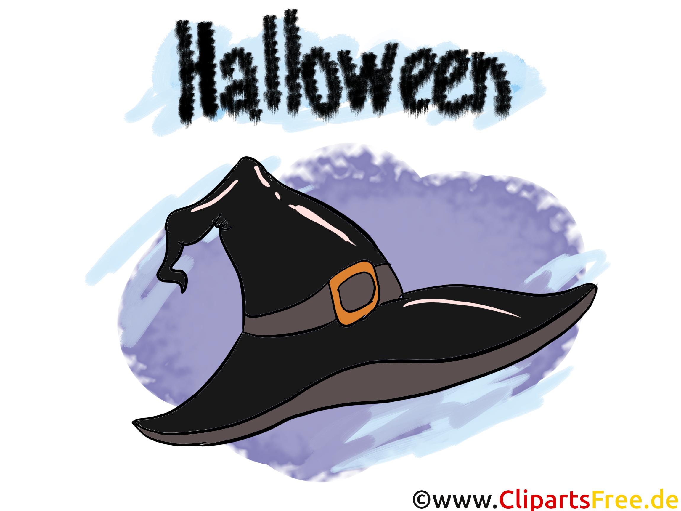 Chapeau clipart gratuit - Halloween images