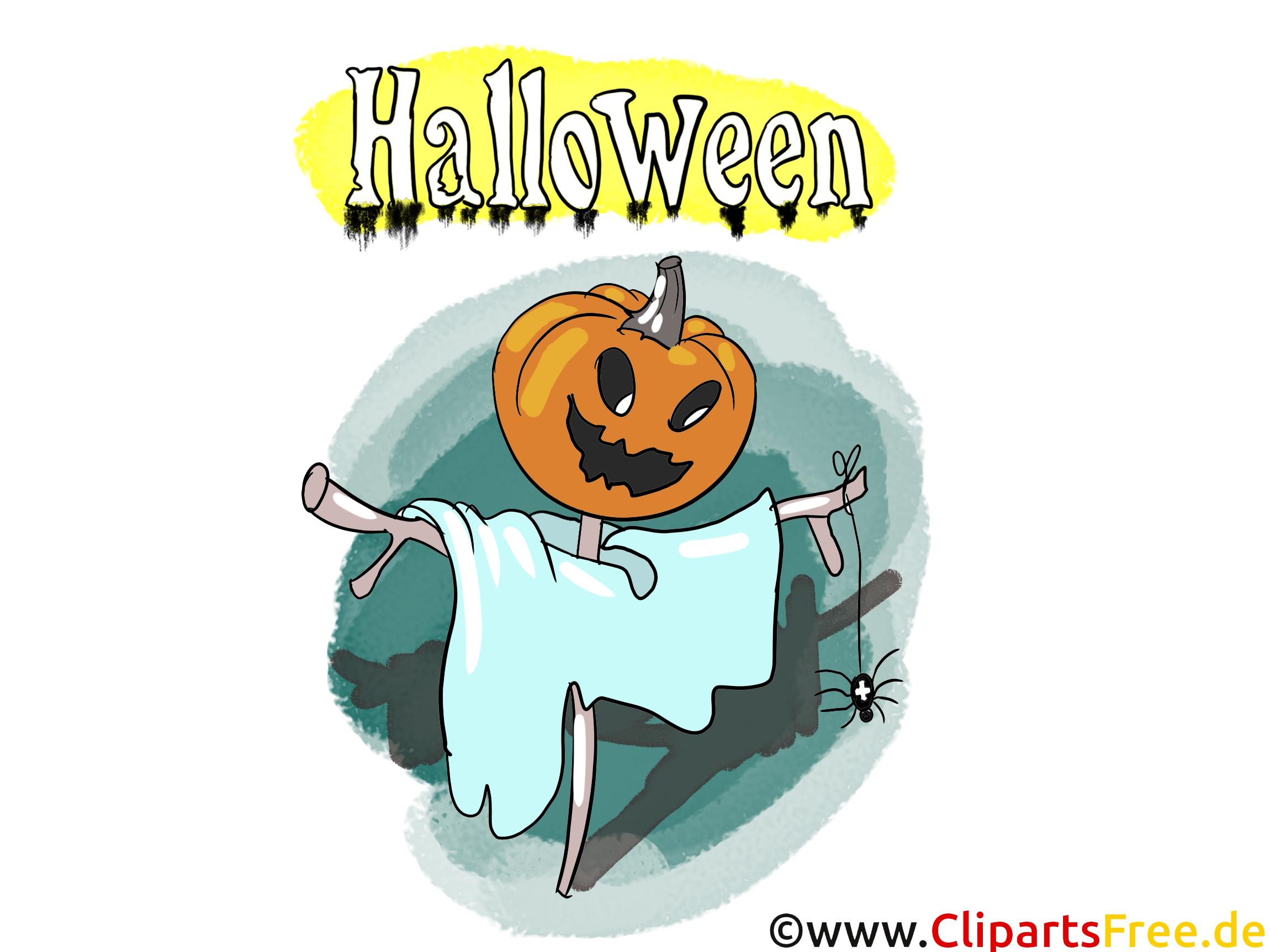 Épouvantail image - Halloween images cliparts