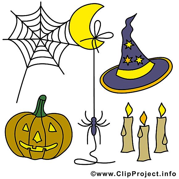 Halloween cliparts gratuis à télécharger images