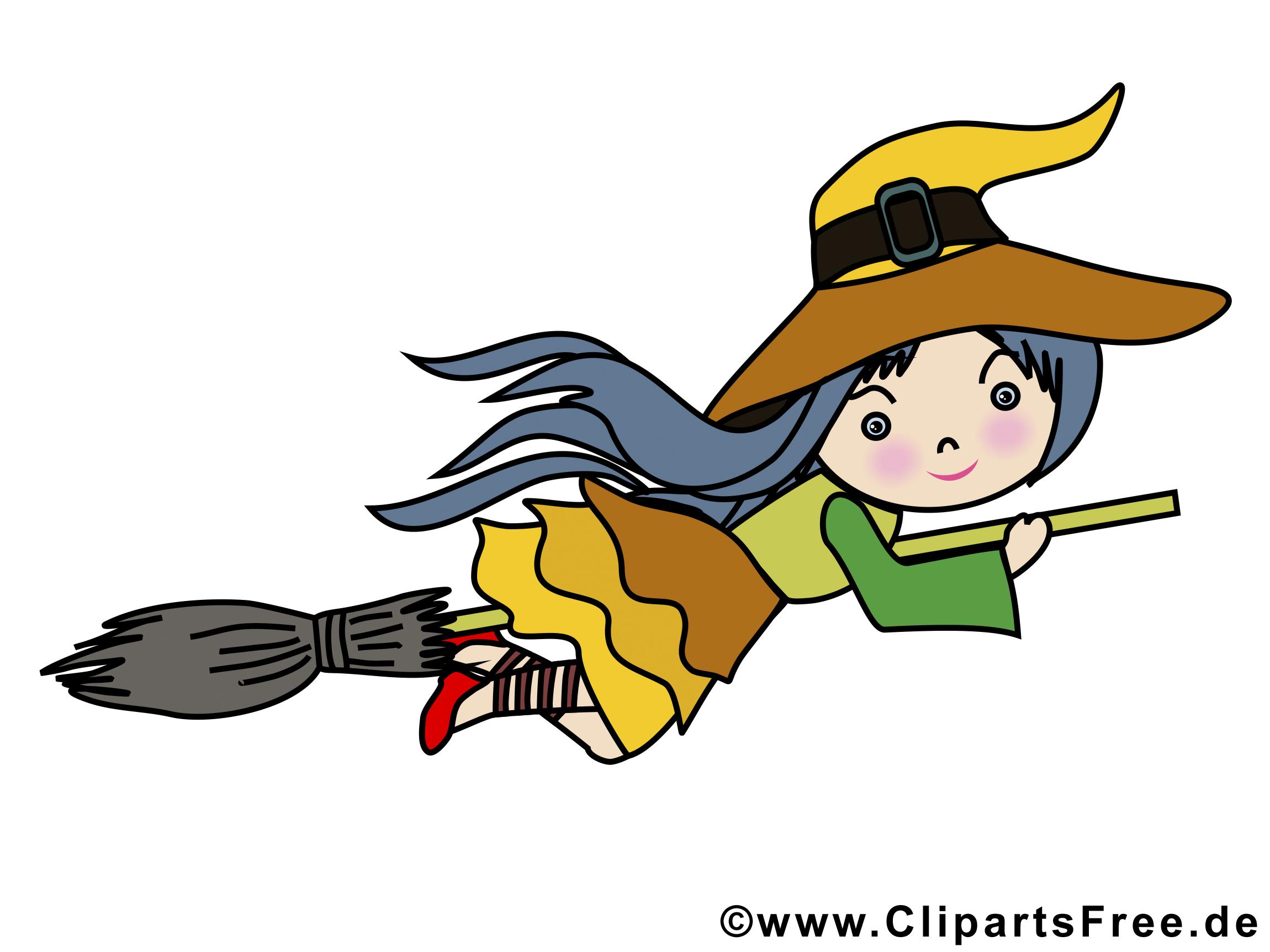 Illustration sorcière - Halloween images