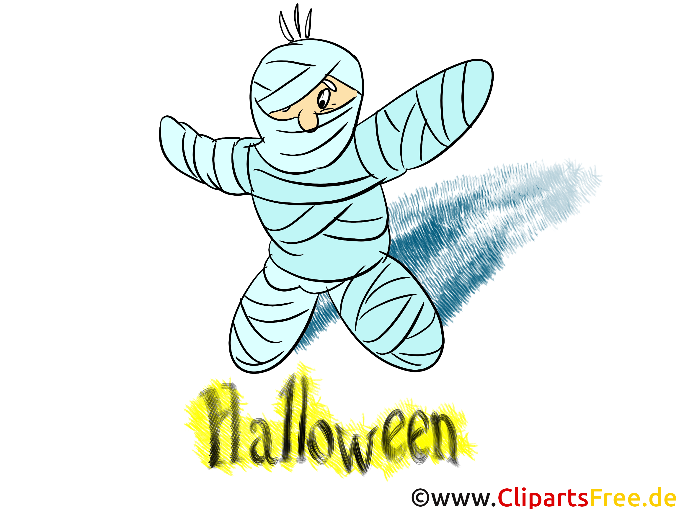 Momie clipart - Halloween dessins gratuits