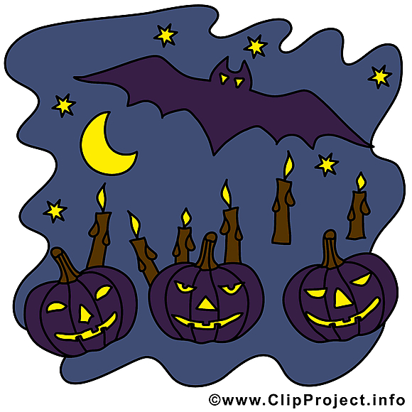 Nuit clip art gratuit – Halloween images