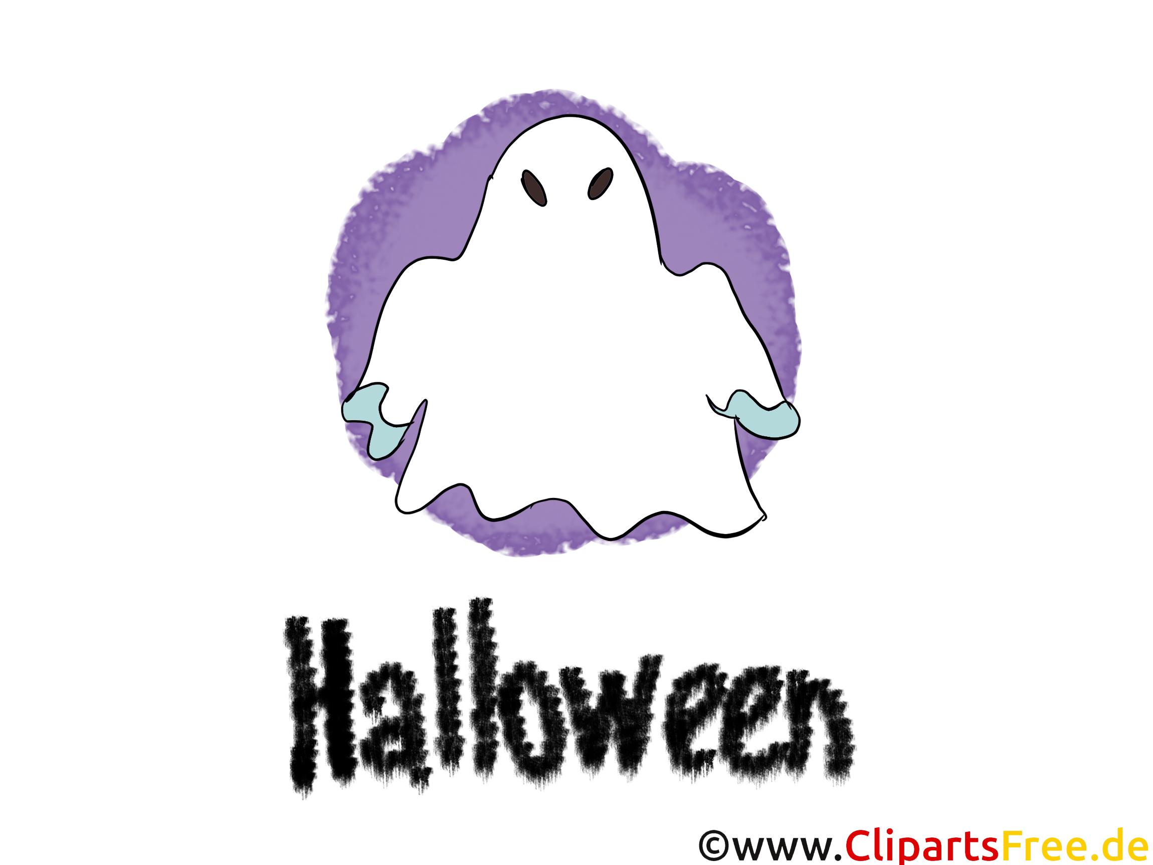 Phantôme dessin - Halloween clip arts gratuits