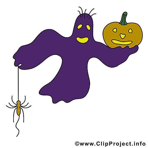 Phantôme halloween illustration gratuite