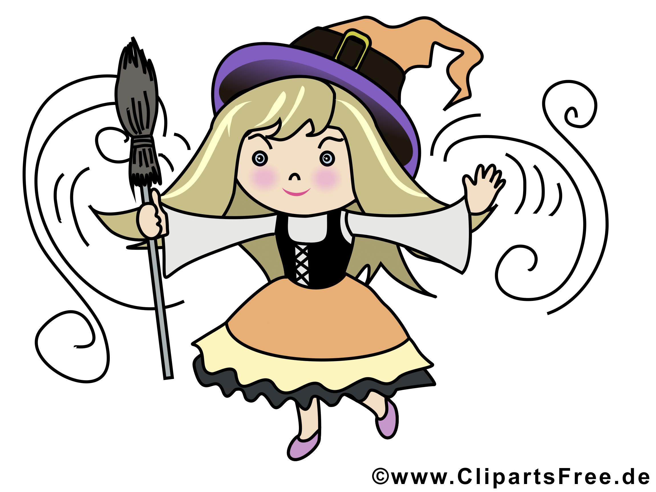 Sorcière illustration - Halloween images
