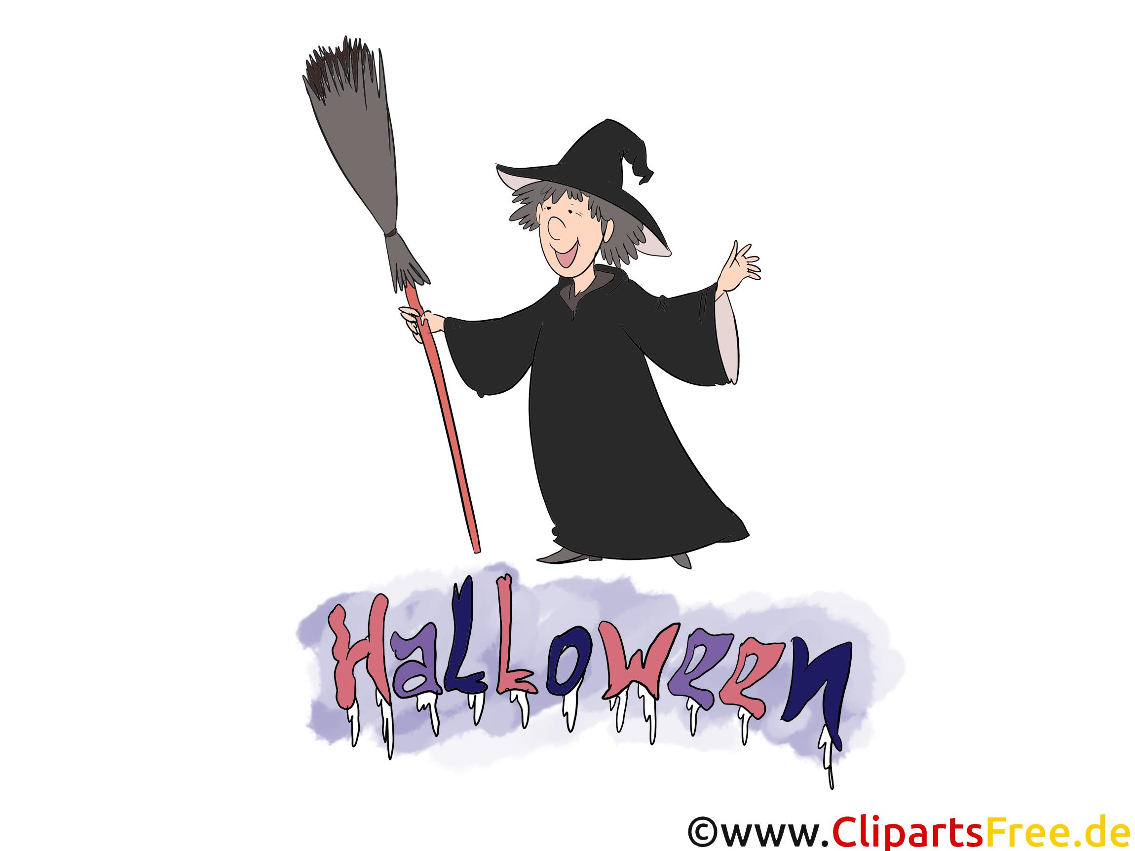 Vieille sorcière clipart - Halloween dessins gratuits