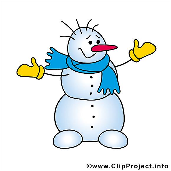 Image bonhomme de neige gratuite hiver cliparts hiver dessin picture image graphic clip - Clipart bonhomme de neige ...