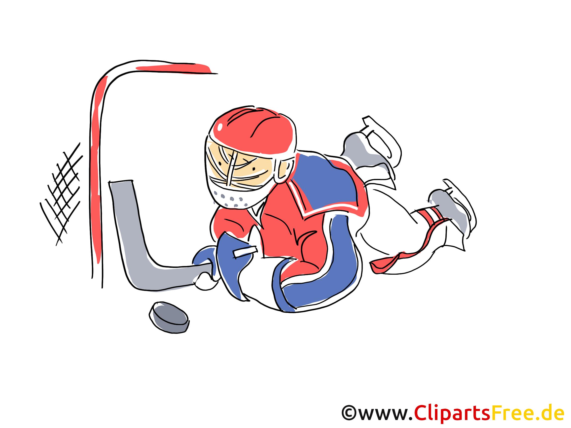 Attaque dessin gratuit - Hockey image