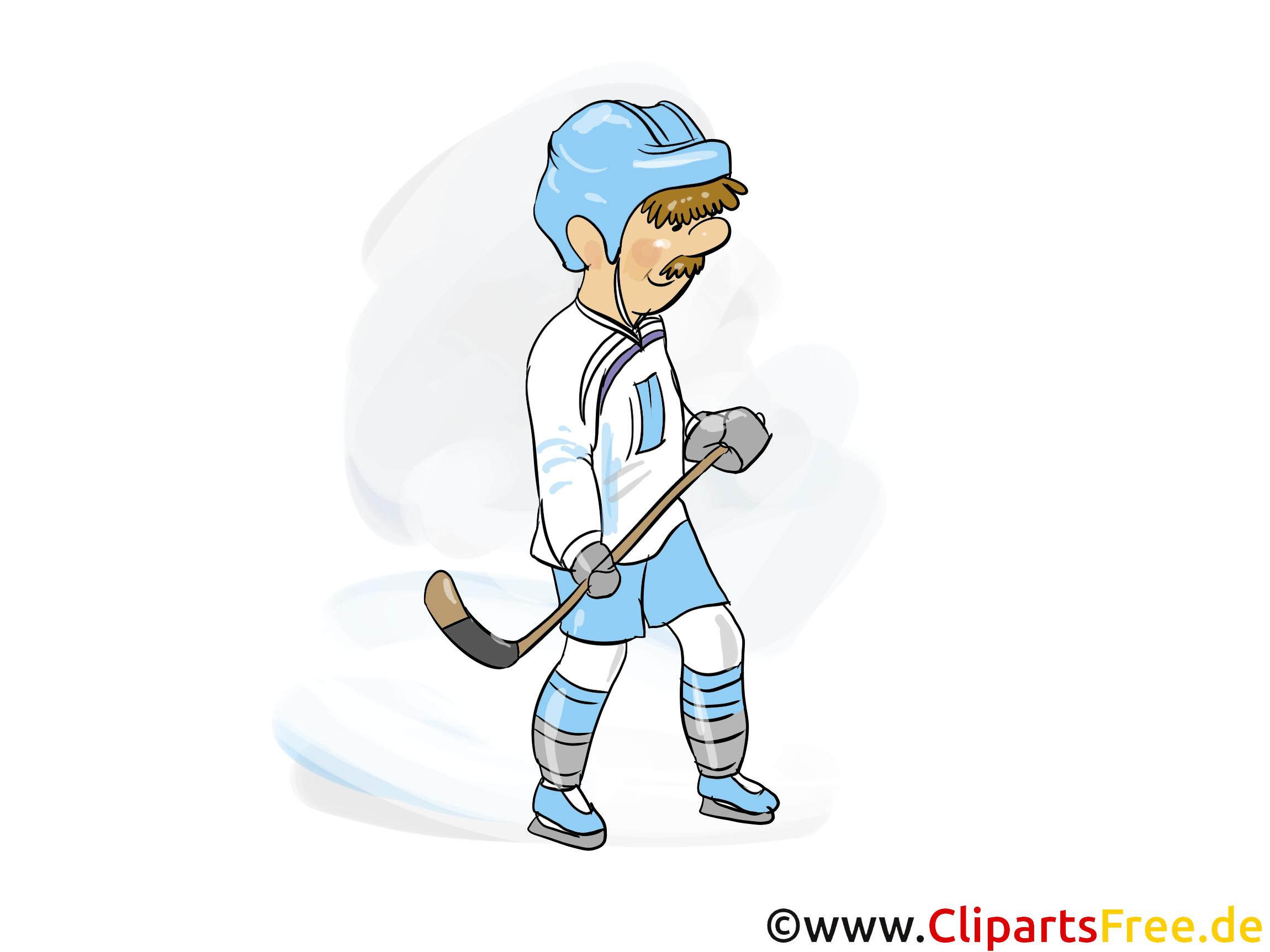 Cross clip art – Hockey gratuite