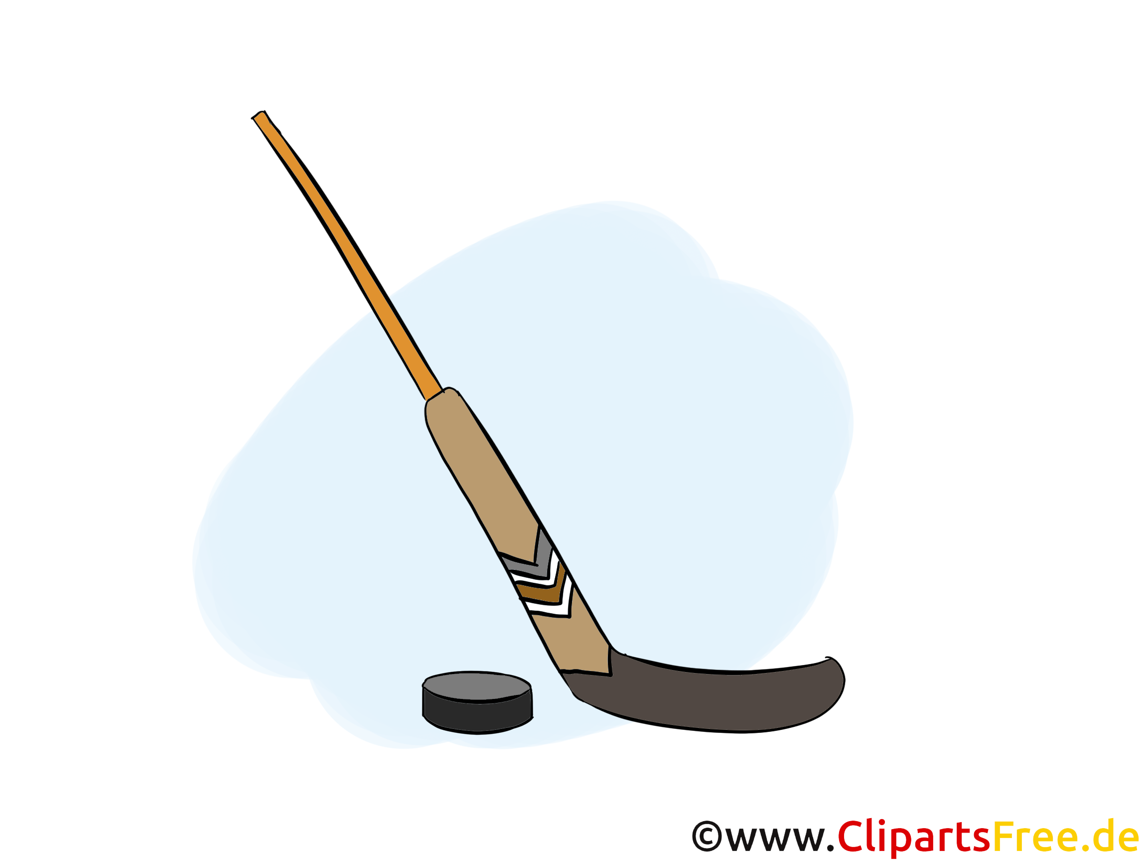 Cross palet clip art gratuit - Hockey dessin