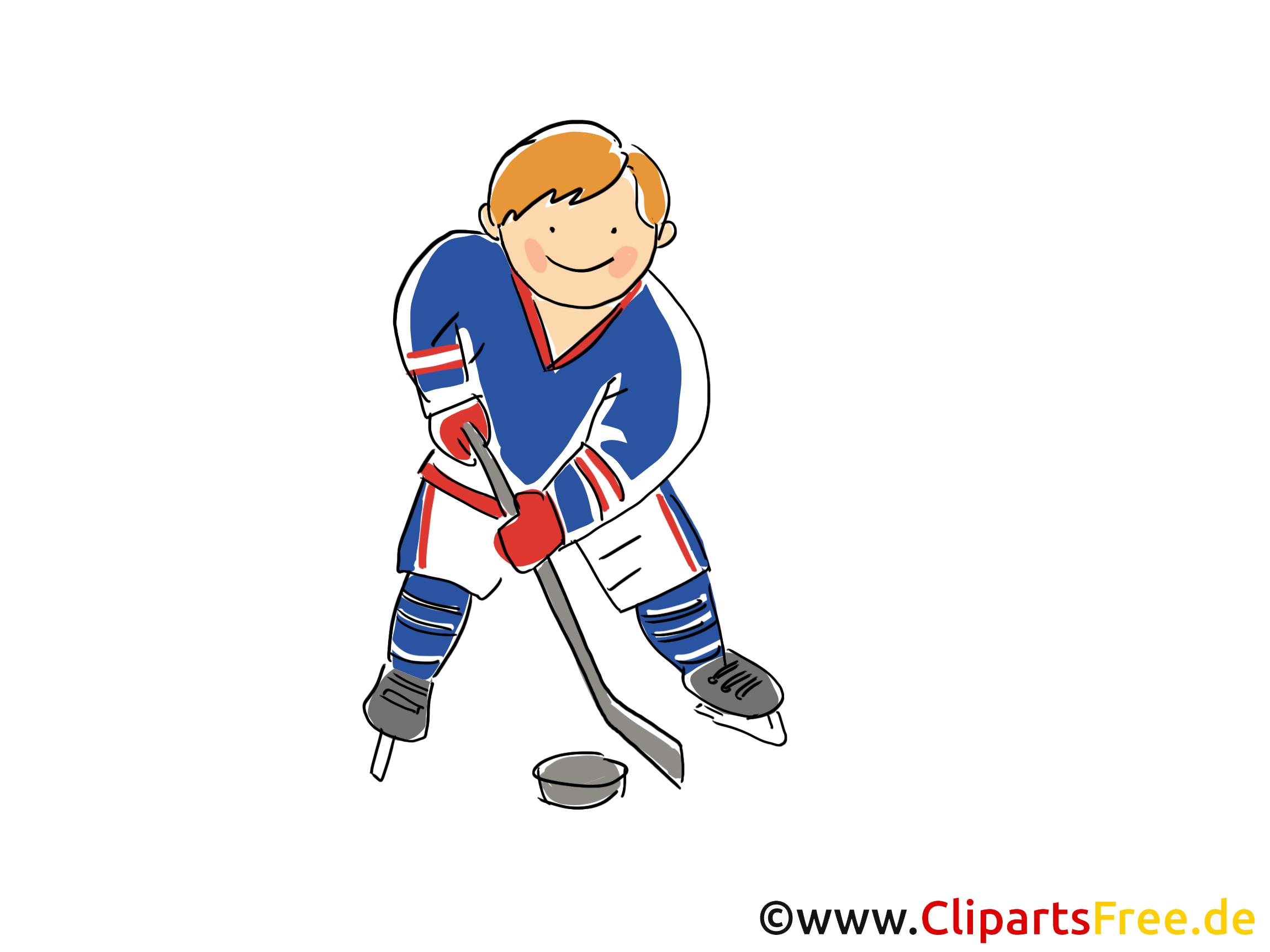 Dessin à télécharger hockeyeur - Hockey images