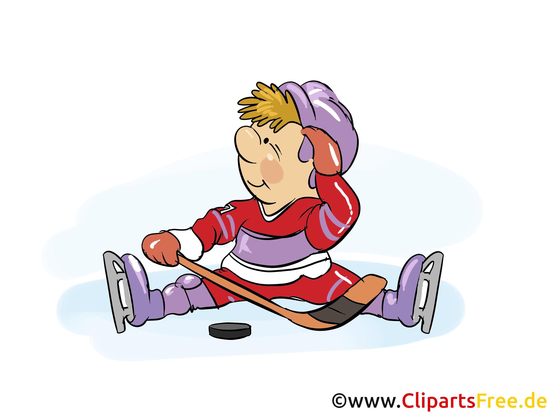 Enfant image à télécharger - Hockey clipart