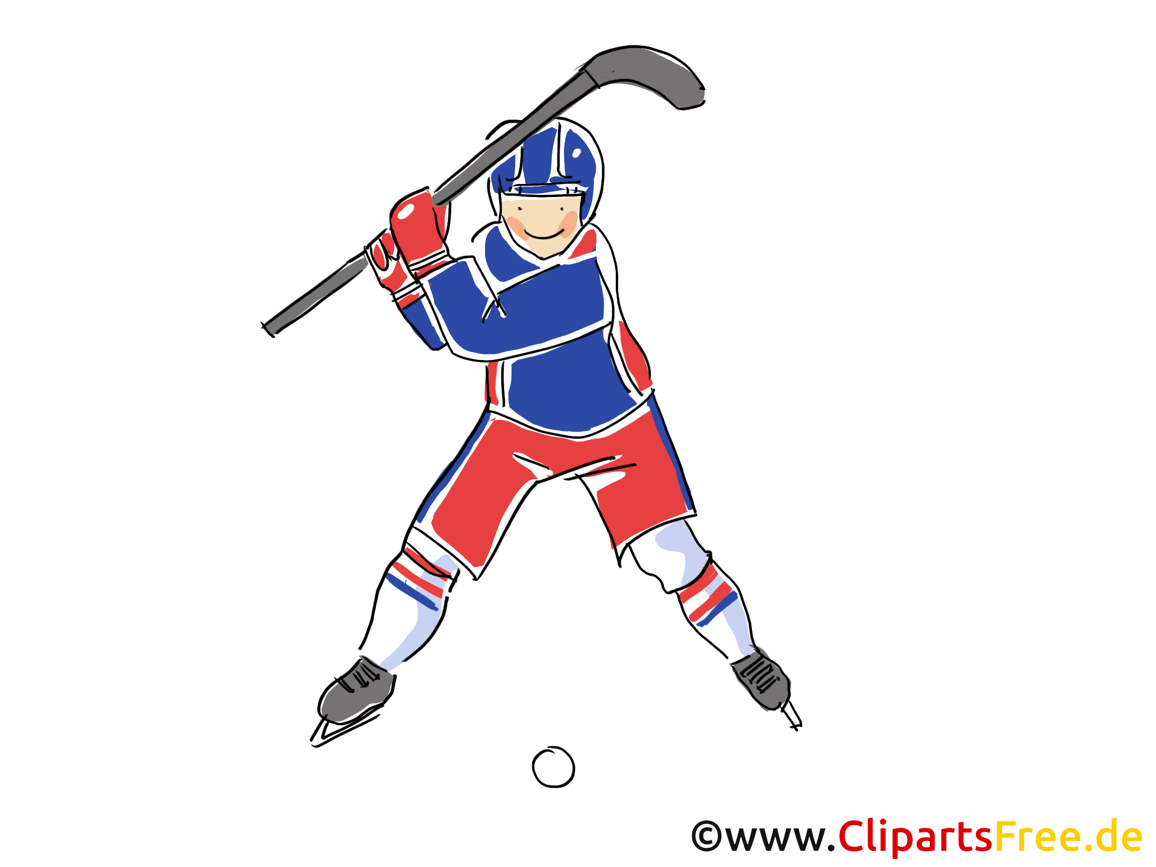 Image joueur - Hockey images cliparts