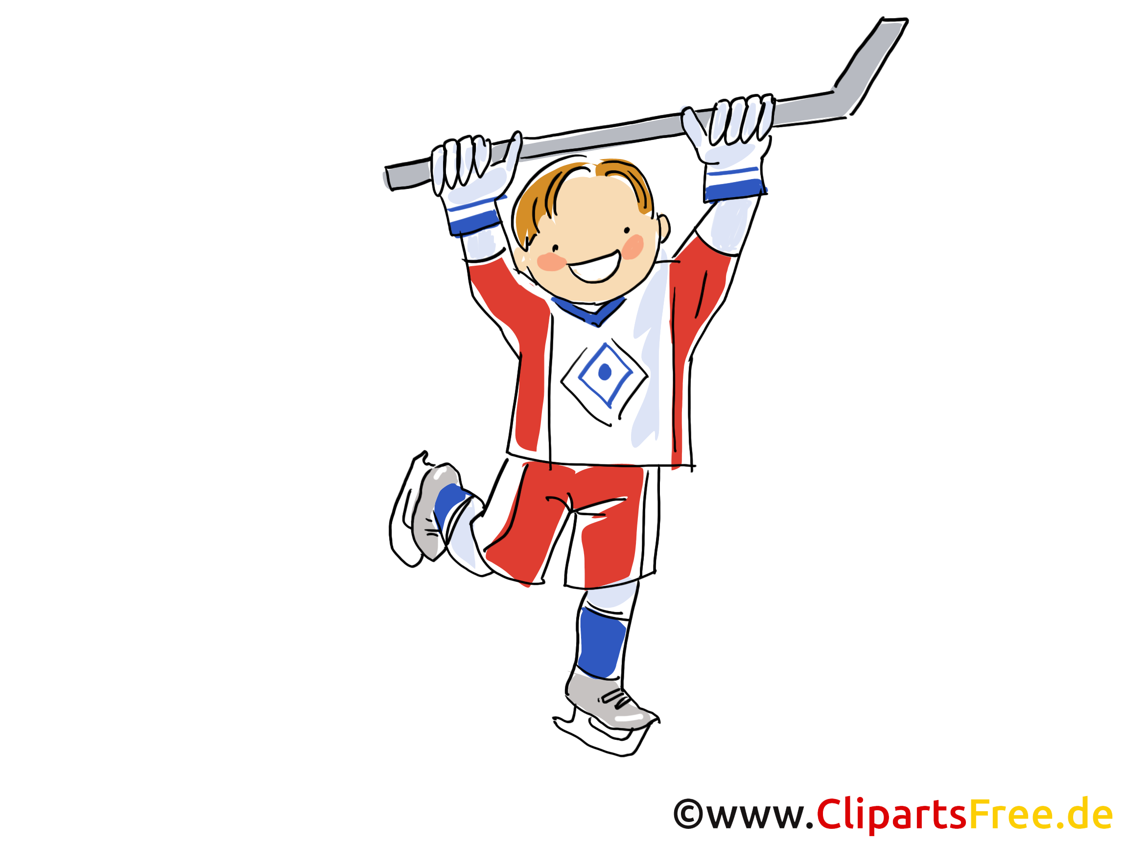 Joueur image gratuite - Hockey cliparts