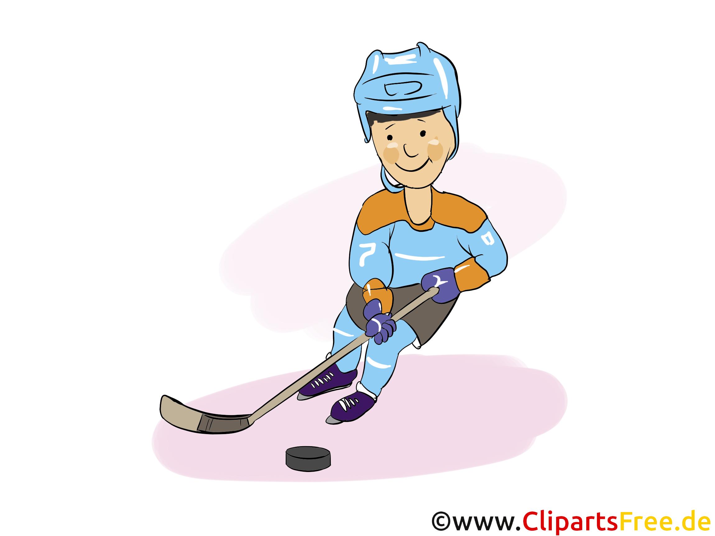 Sport d'hiver image gratuite - Hockey cliparts
