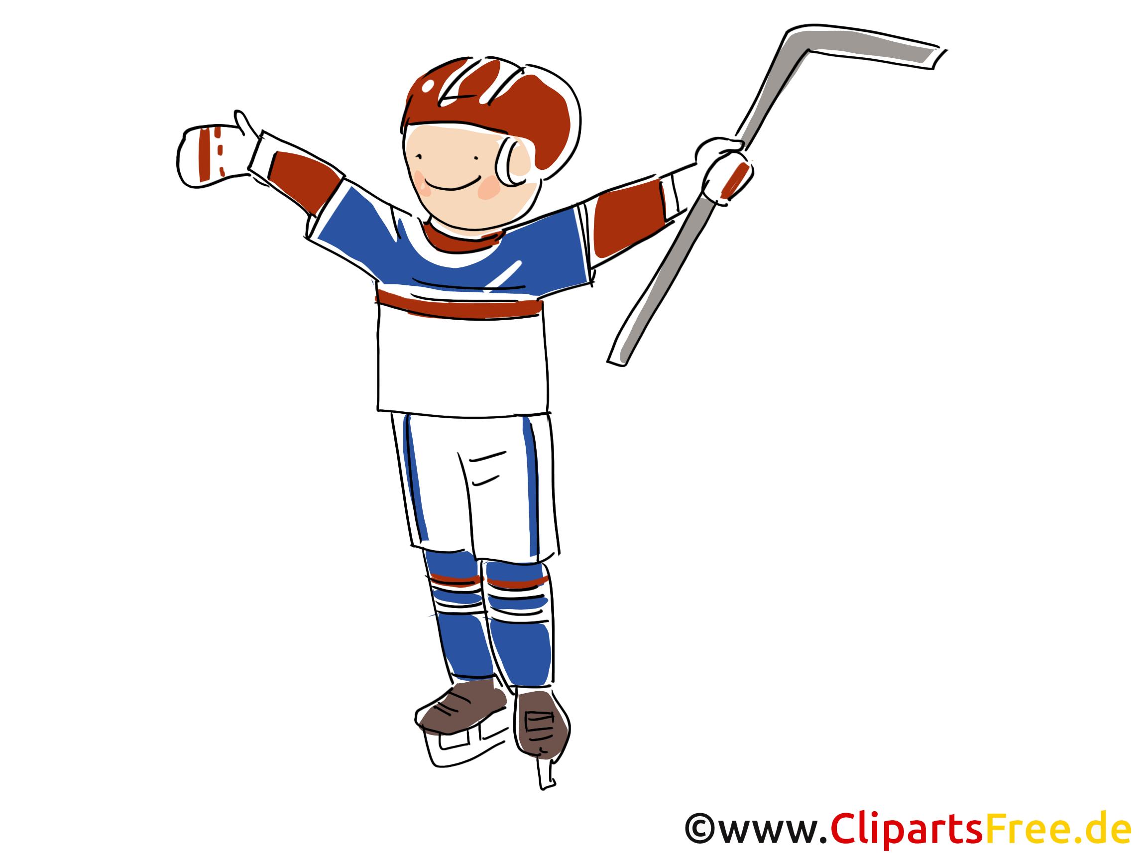 Vainqueur image - Hockey images cliparts