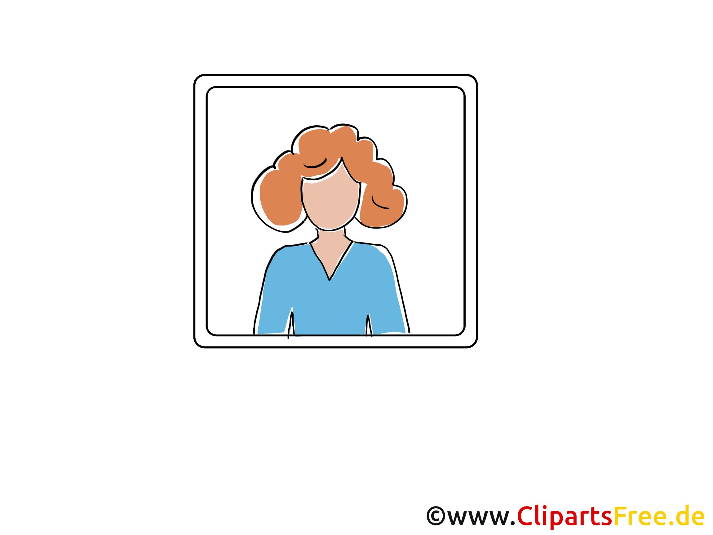 Femme clip art gratuit – Icône images
