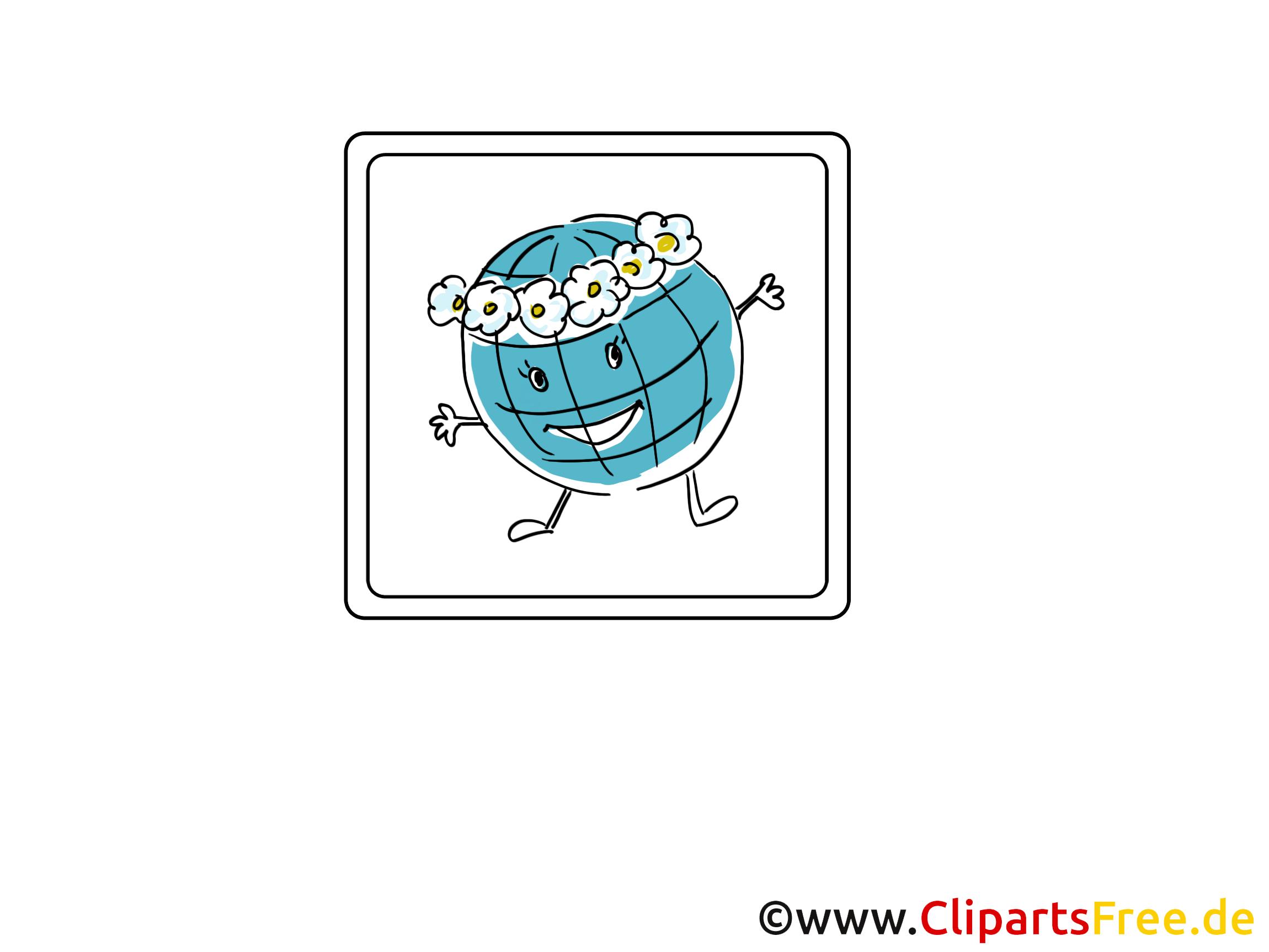 Globe images - Icône clip art gratuit