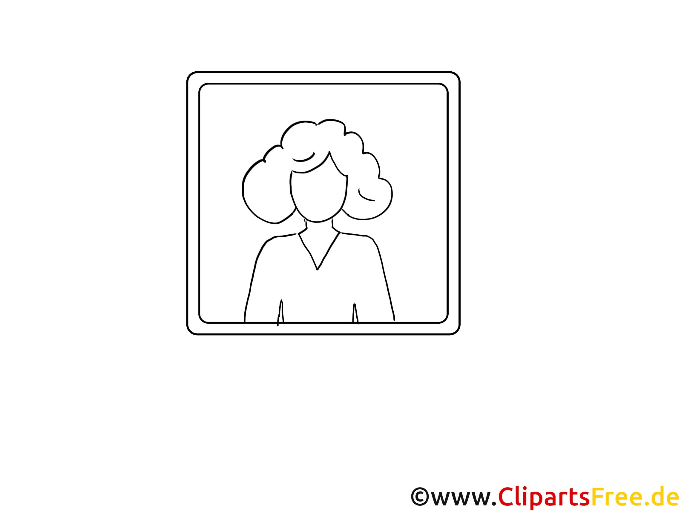 Image femme - Icône images cliparts