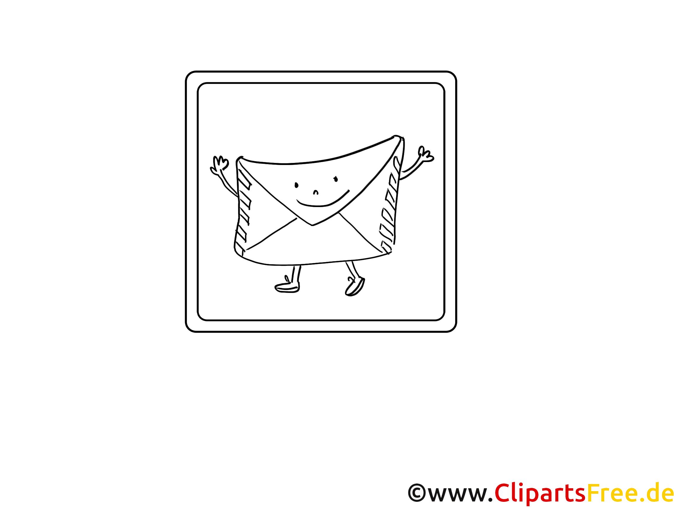 Lettre illustration - Icône images