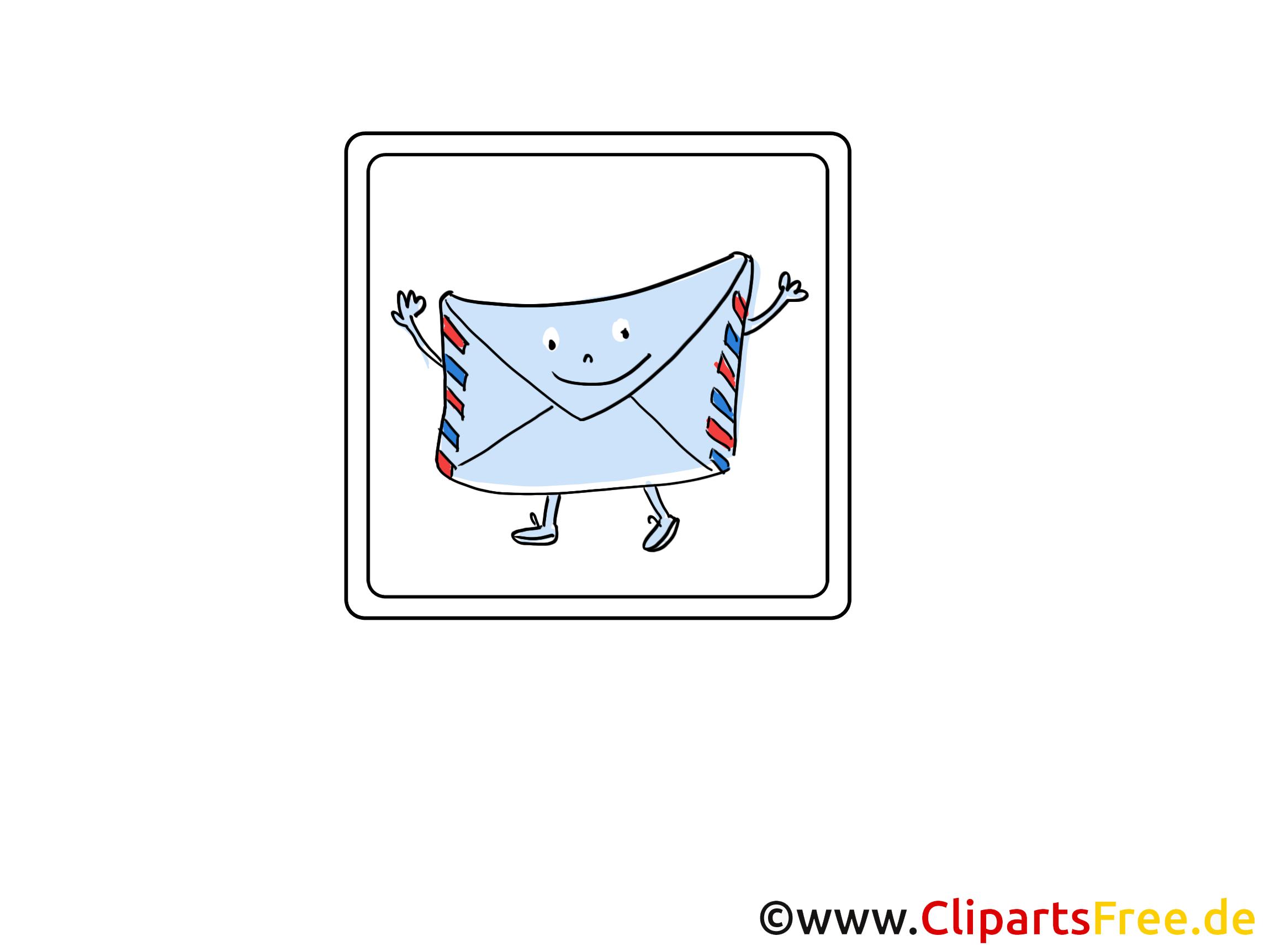 Lettre image gratuite - Icône illustration