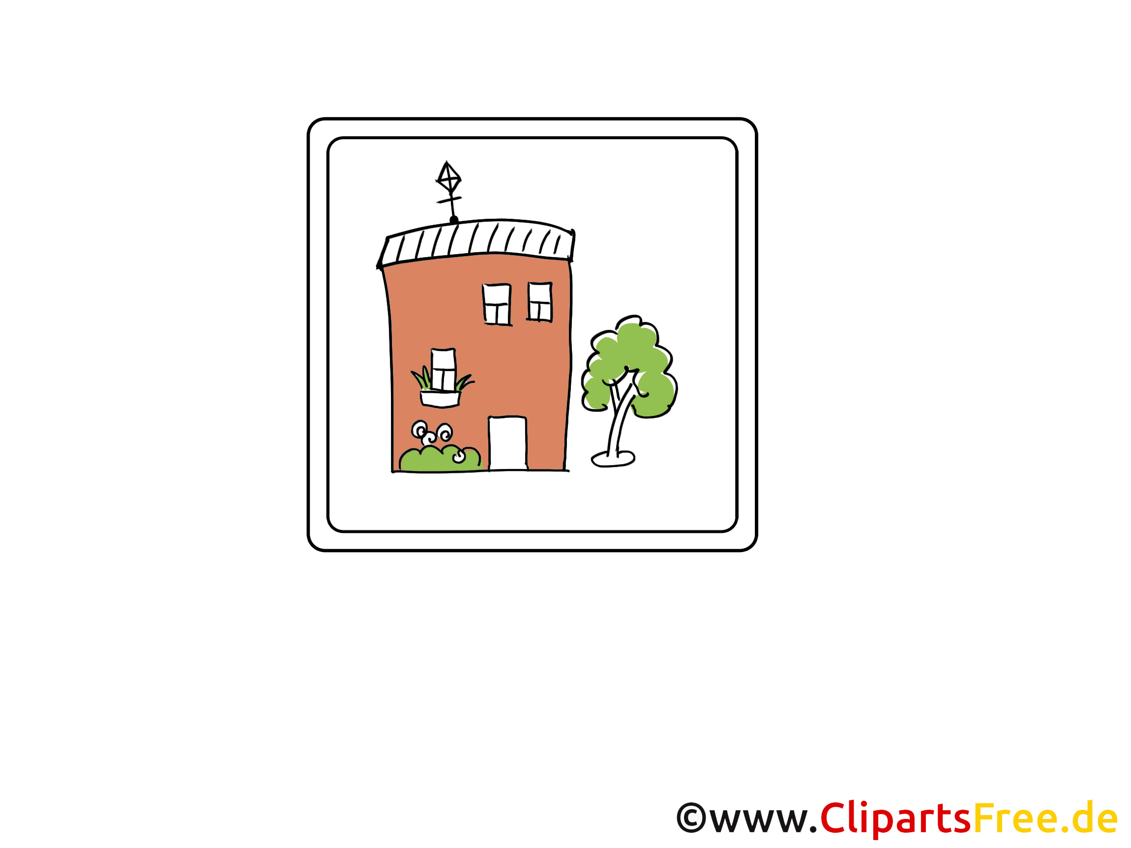 Maison cliparts gratuis - Icône images