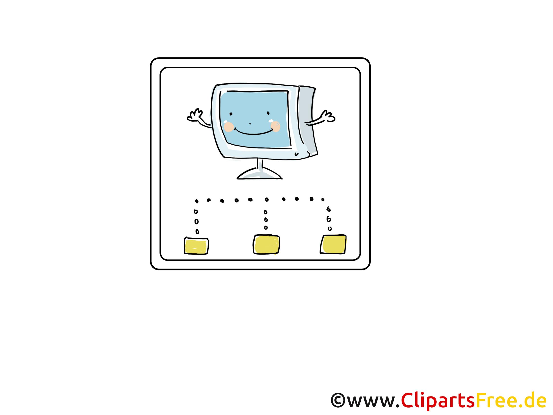 Ordinateur dessin - Icône cliparts à télécharger