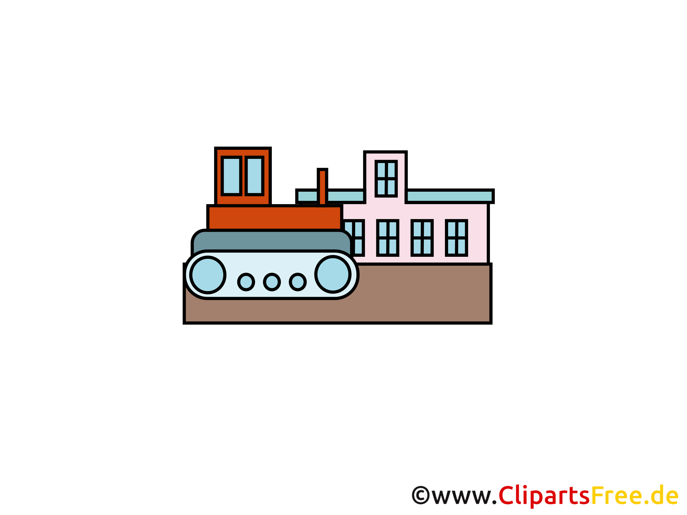 Bulldozer image - Industrie images cliparts