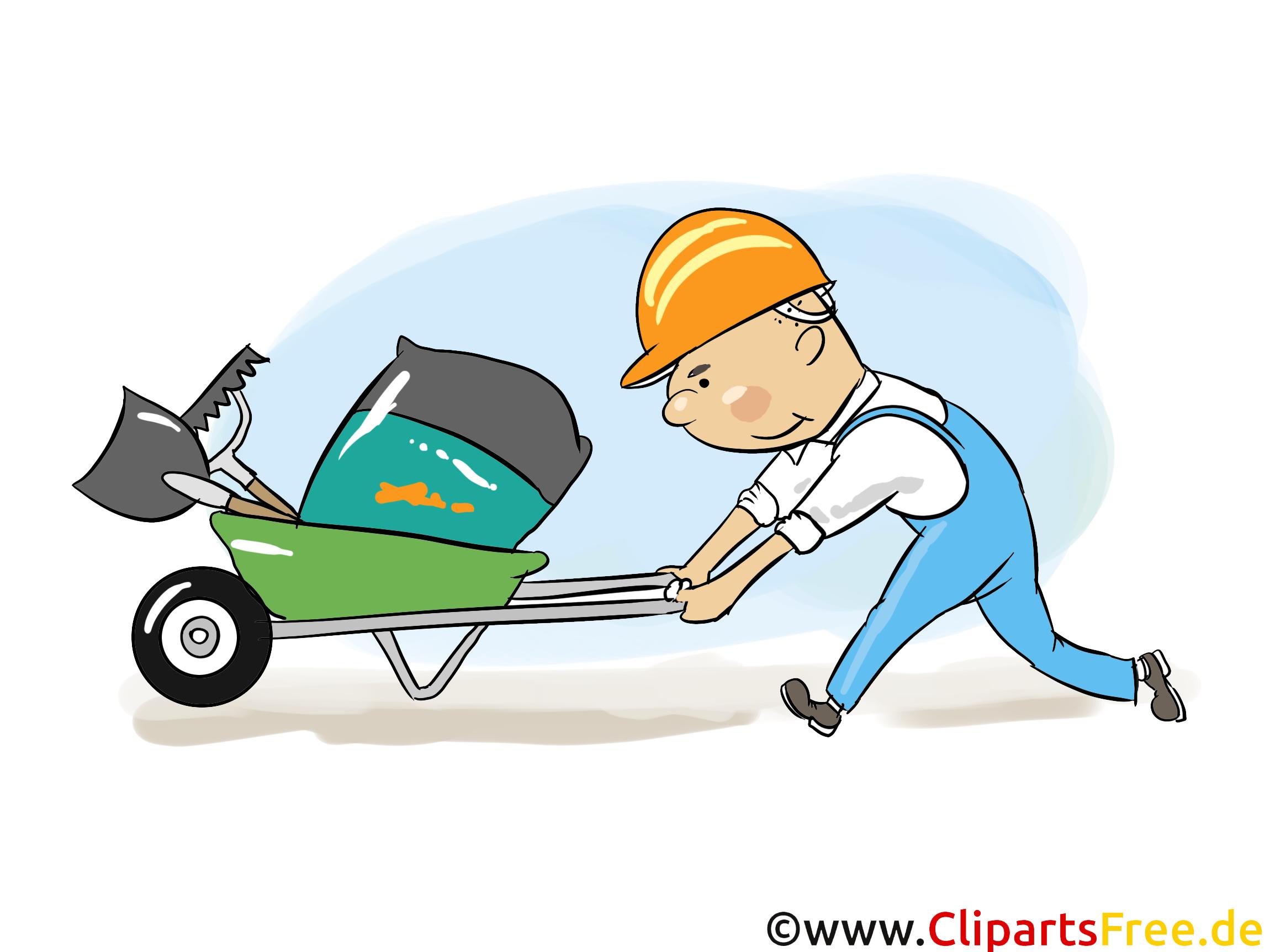 Charrette dessin - Industrie clip arts gratuits