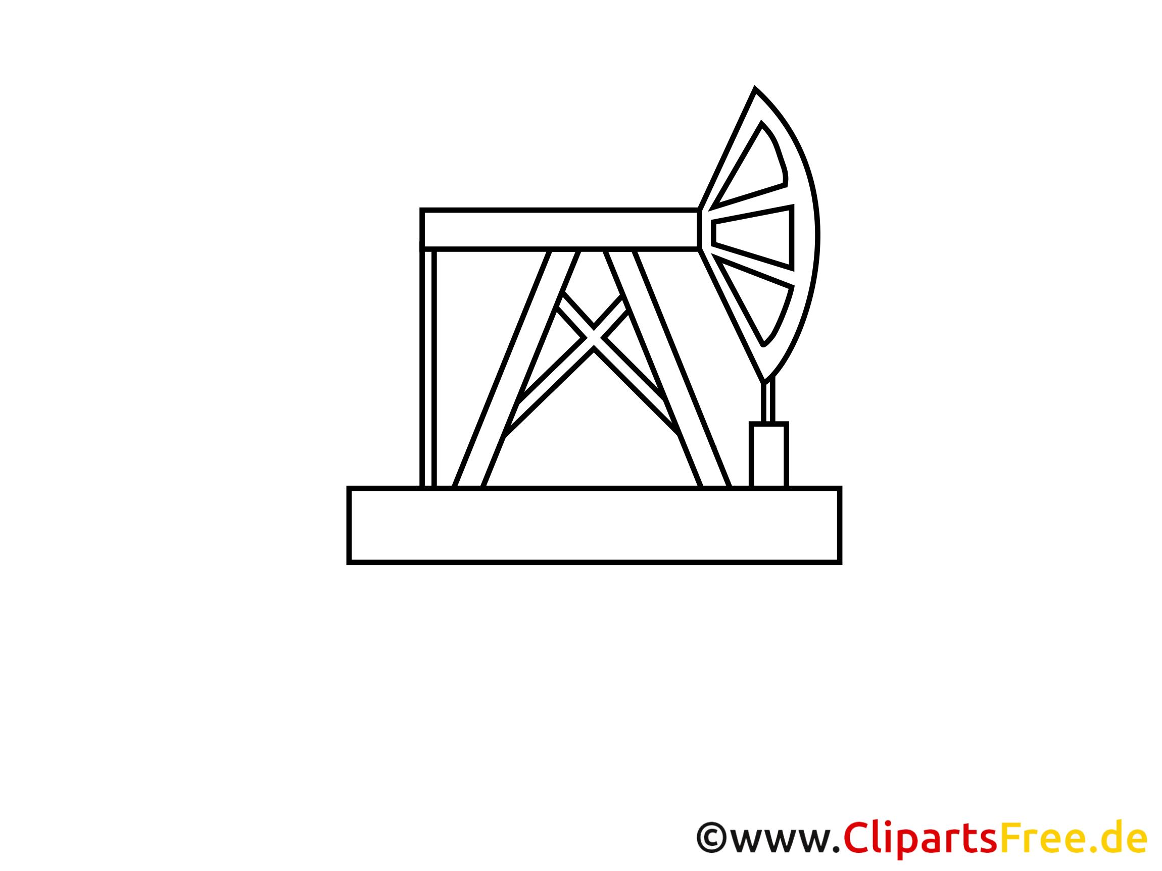 Clipart raffinerie à imprimer - Industrie images