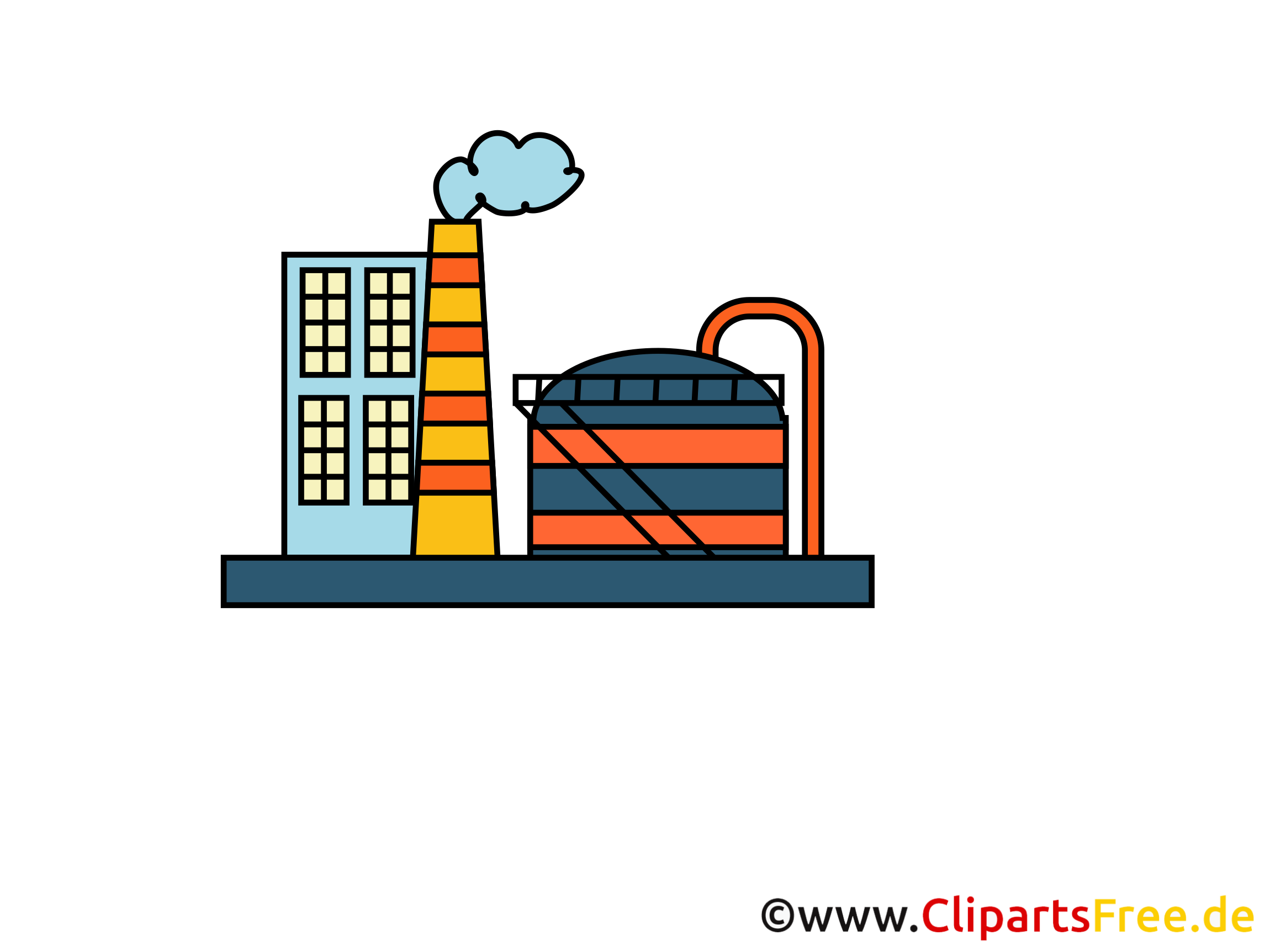 clipart usine gratuit - photo #6