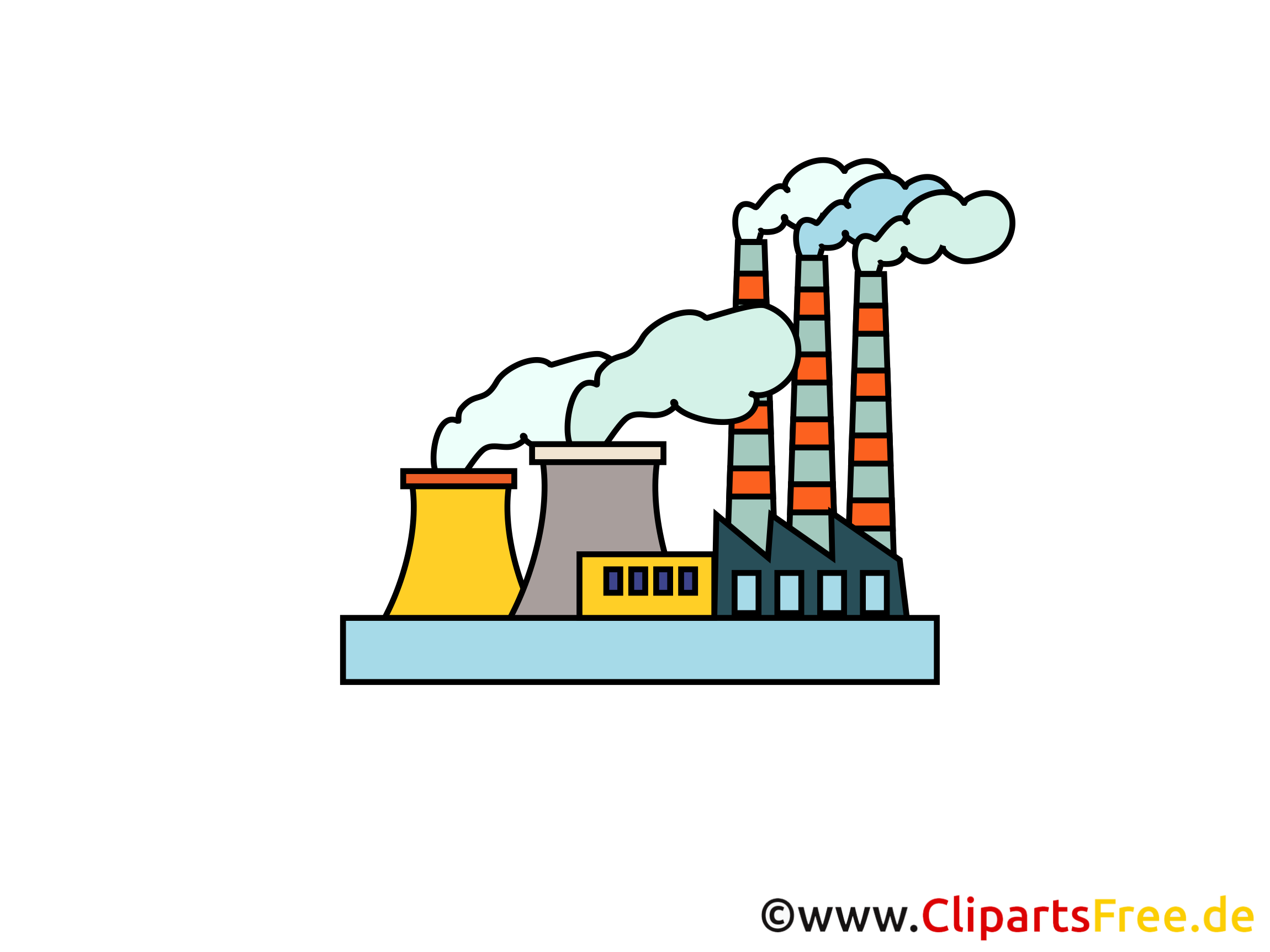 Industrie cliparts gratuis - Usine images