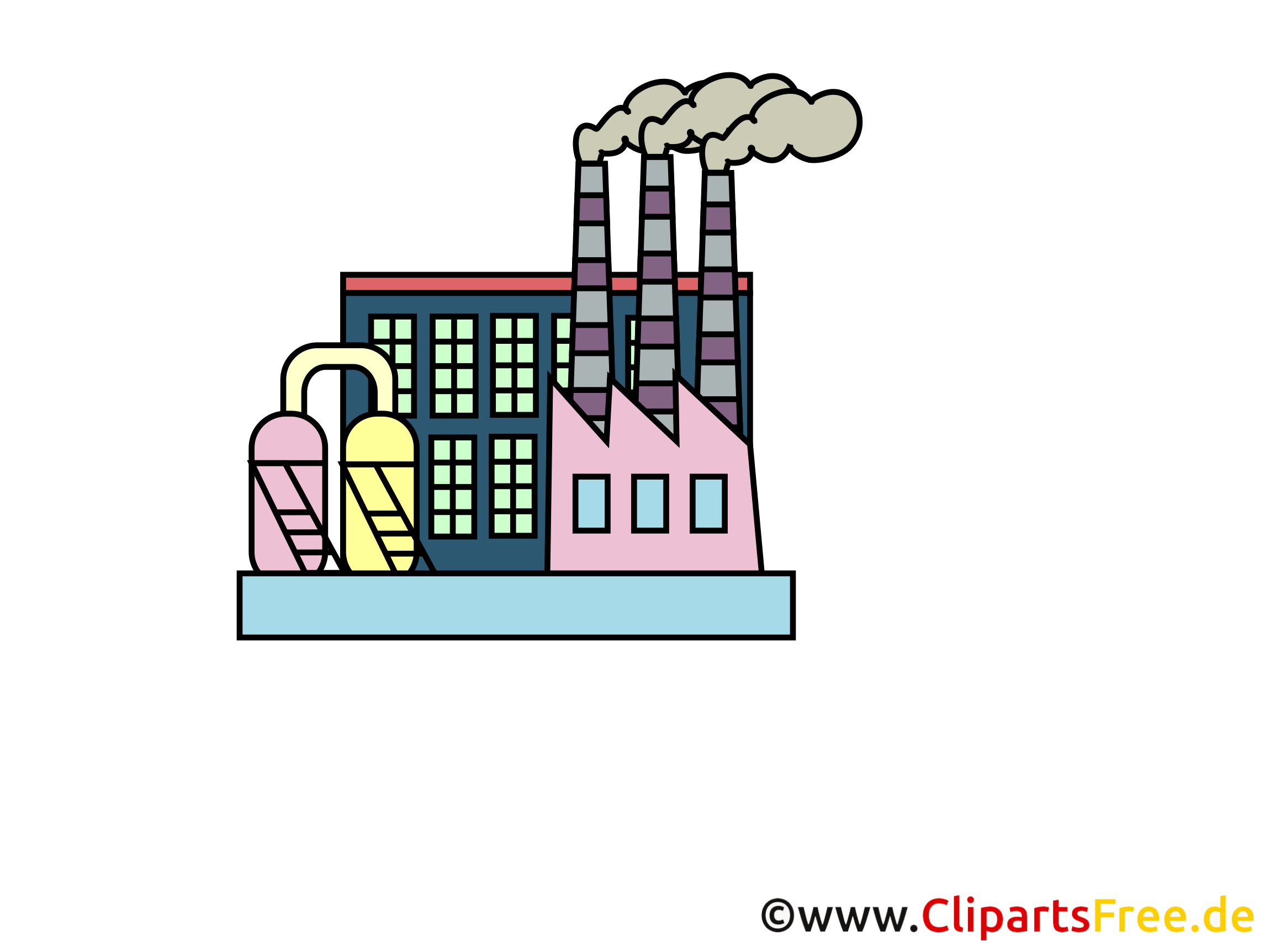 clipart usine gratuit - photo #2