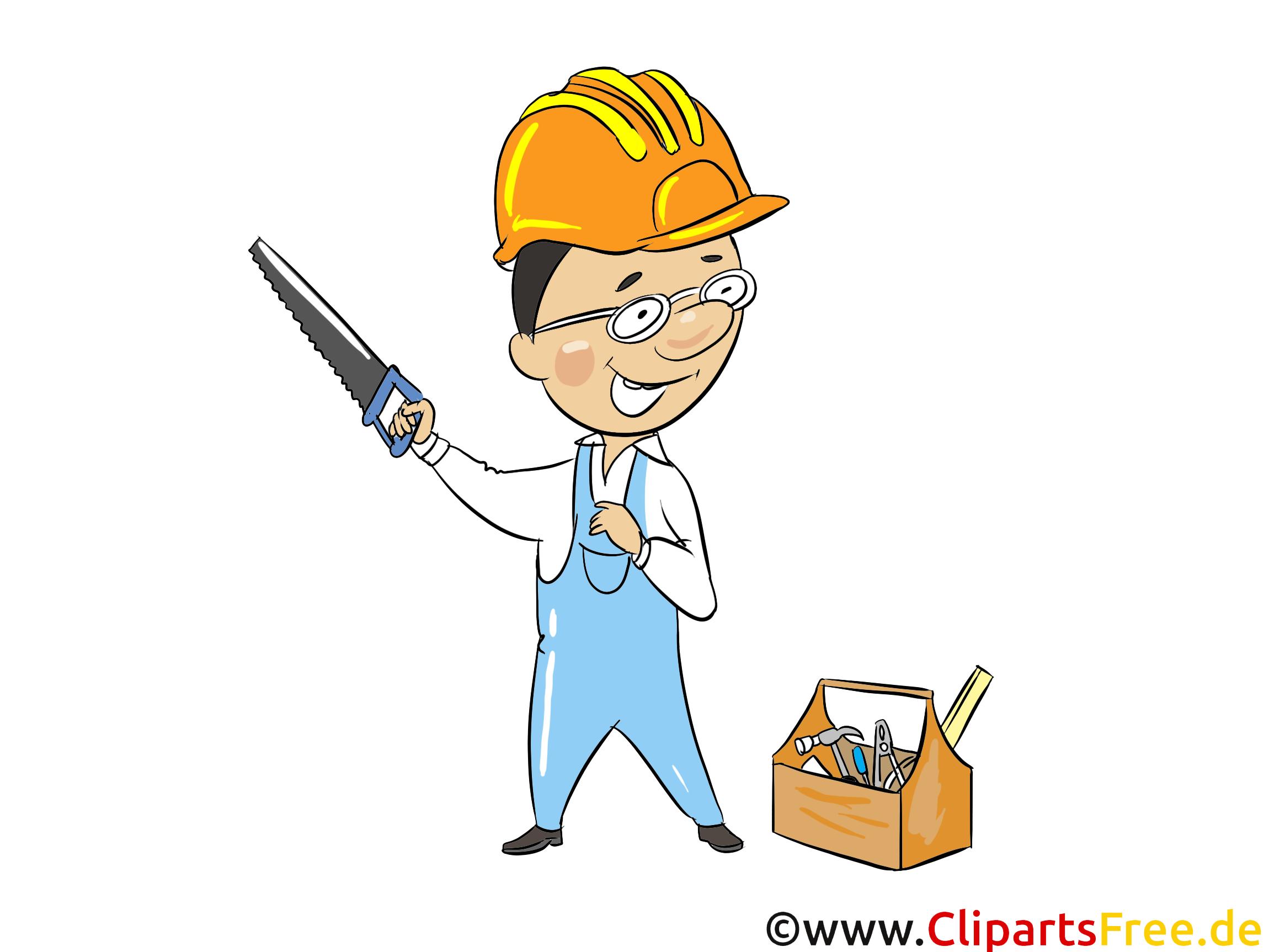 Ouvrier dessin - Industrie cliparts à télécharger