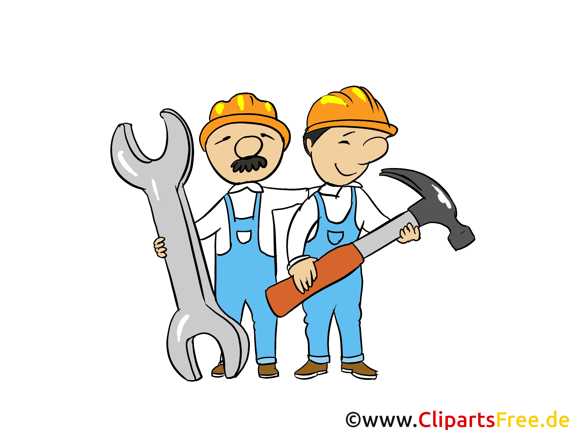 Ouvriers clip art gratuit - Industrie dessin