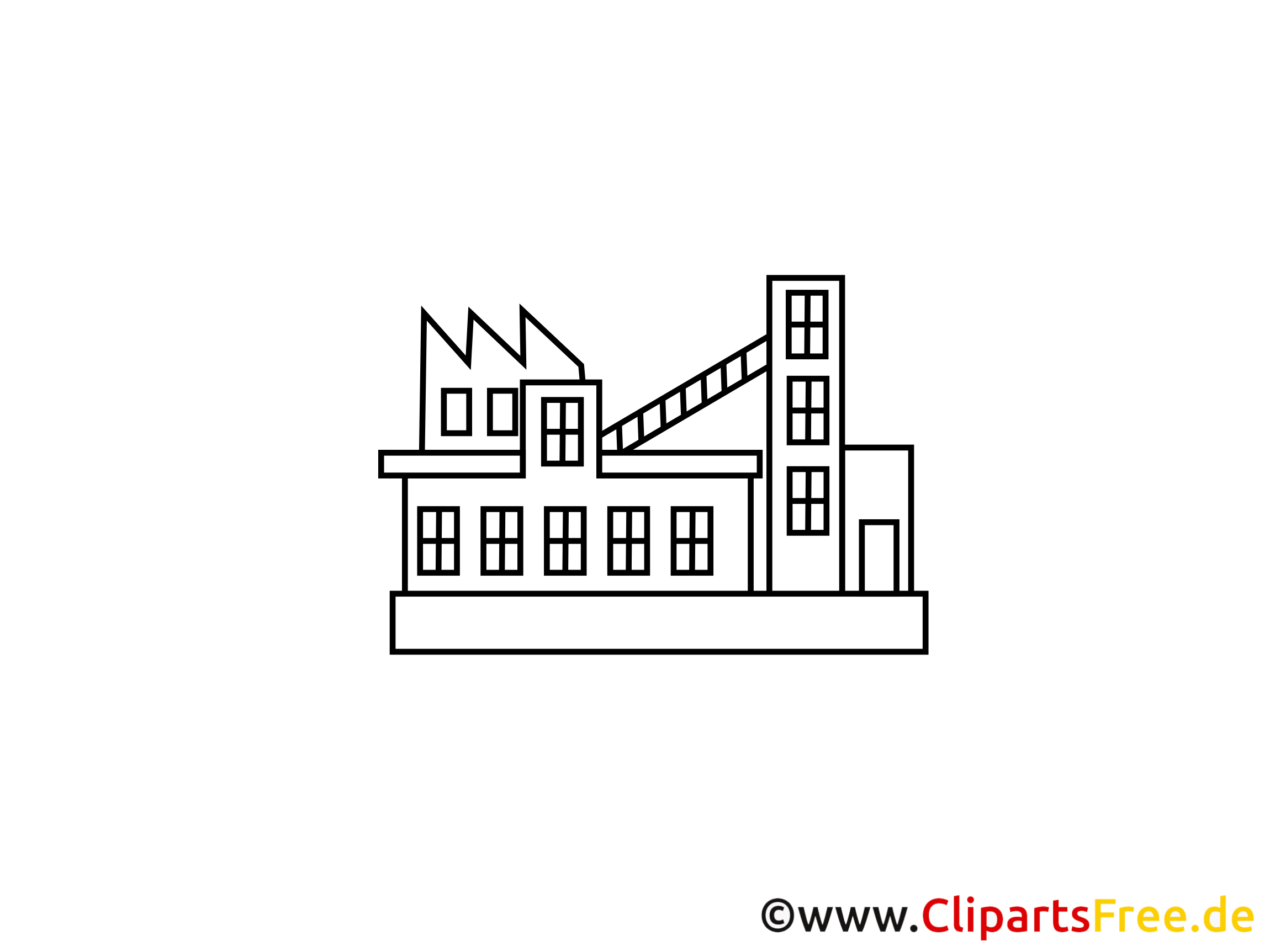 Production coloriage - Industrie dessins gratuits