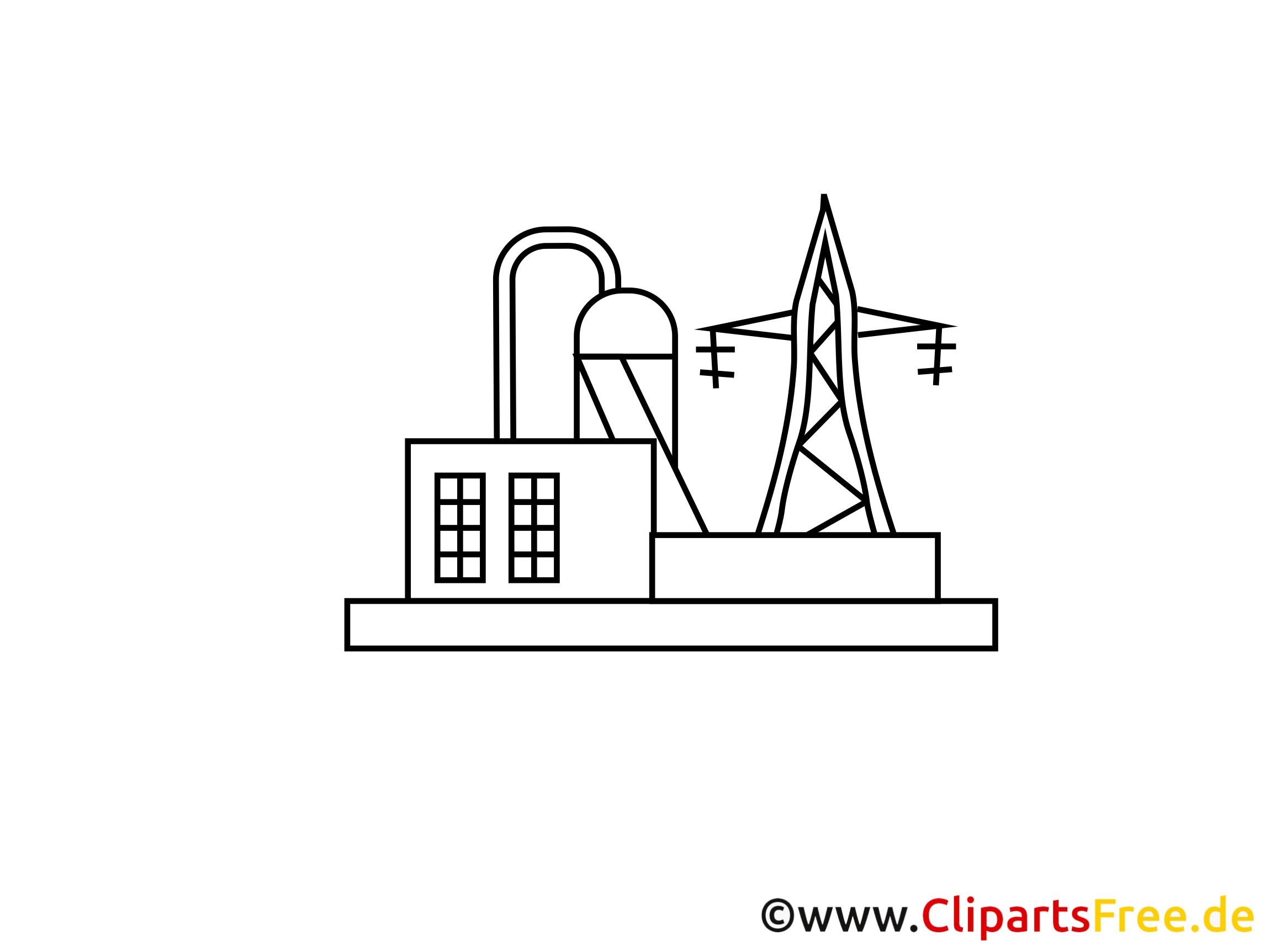 Station électrique image à imprimer - Industrie images
