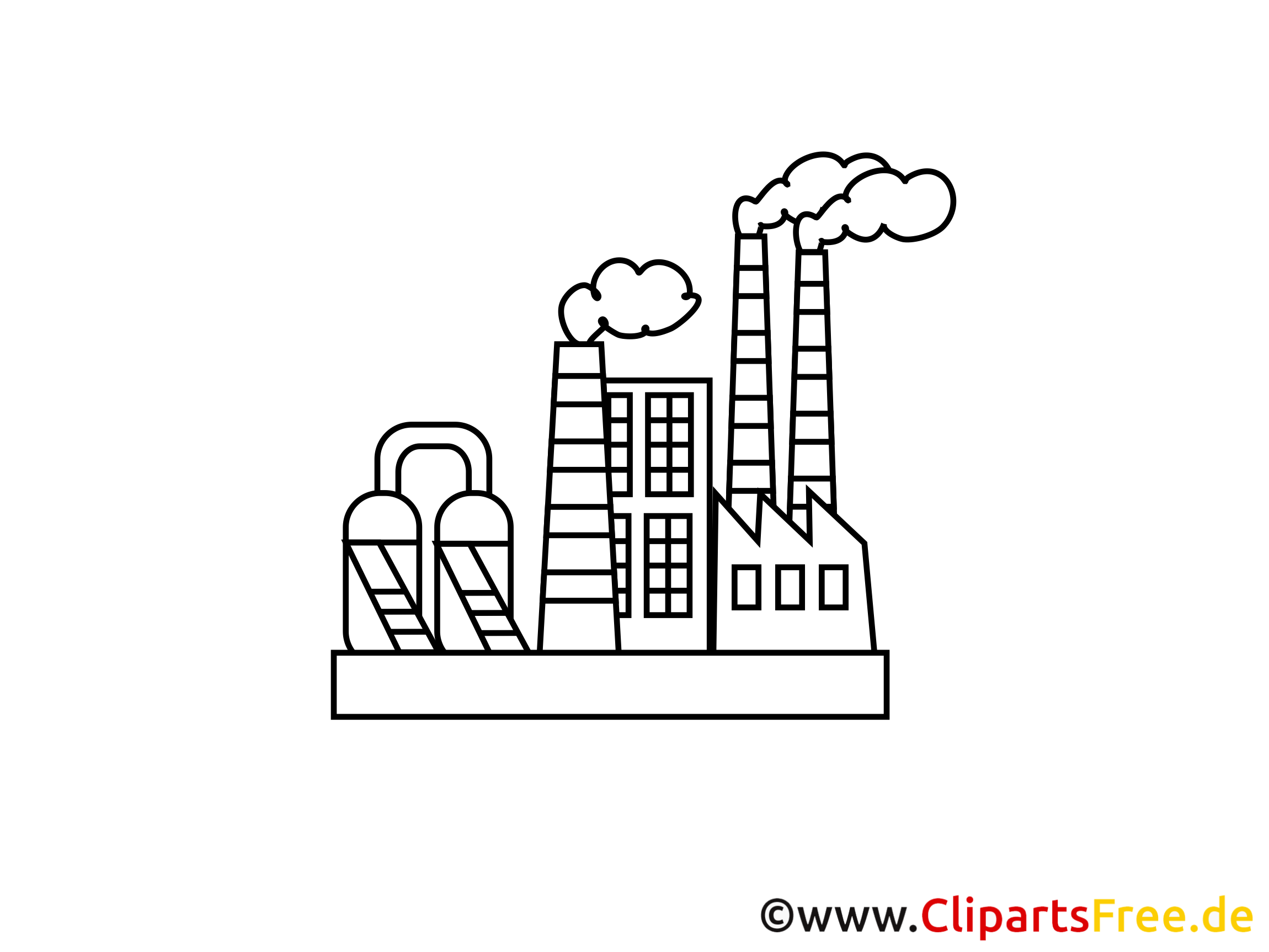 clipart usine gratuit - photo #3
