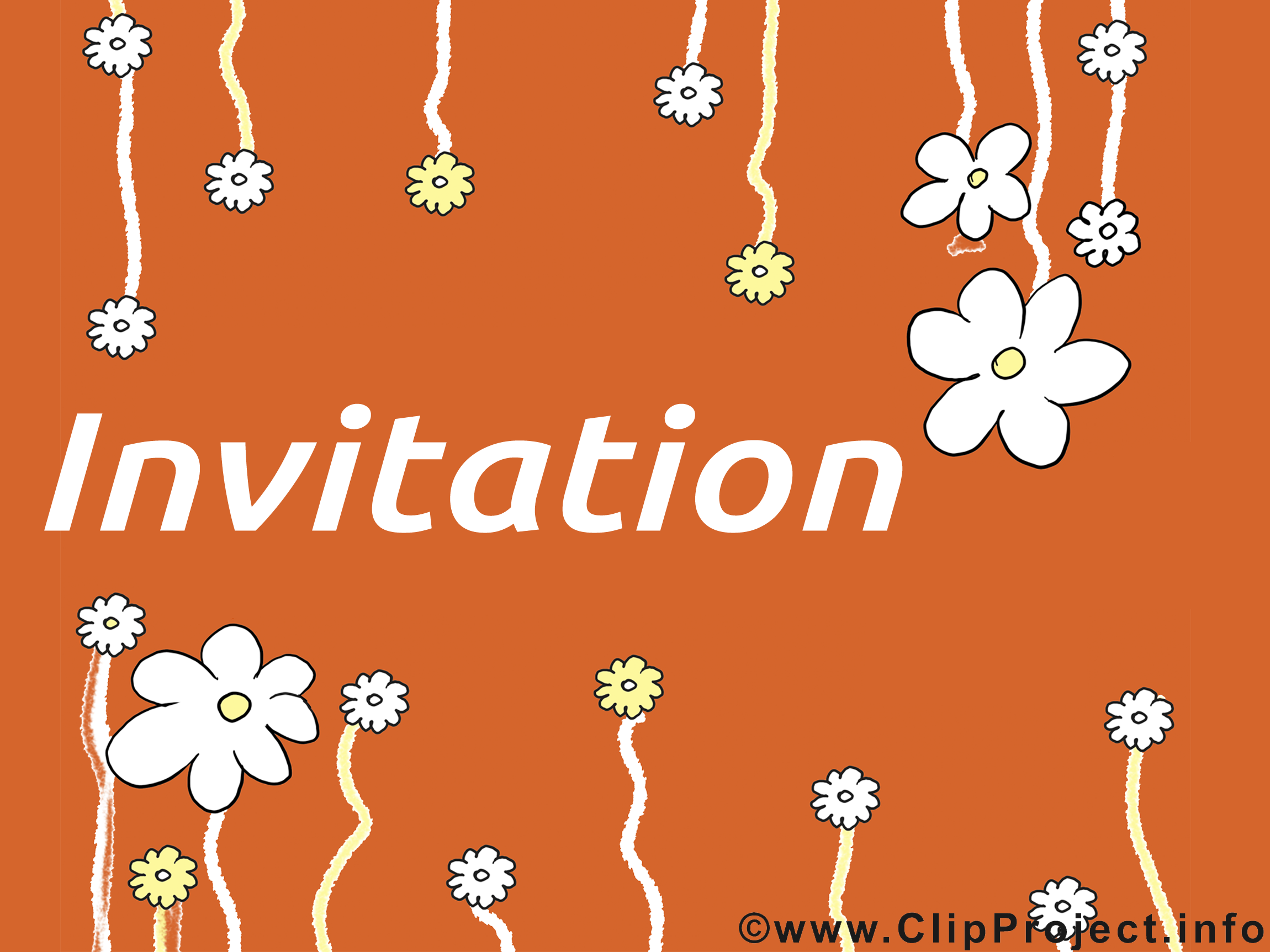 Clipart invitation dessins gratuits
